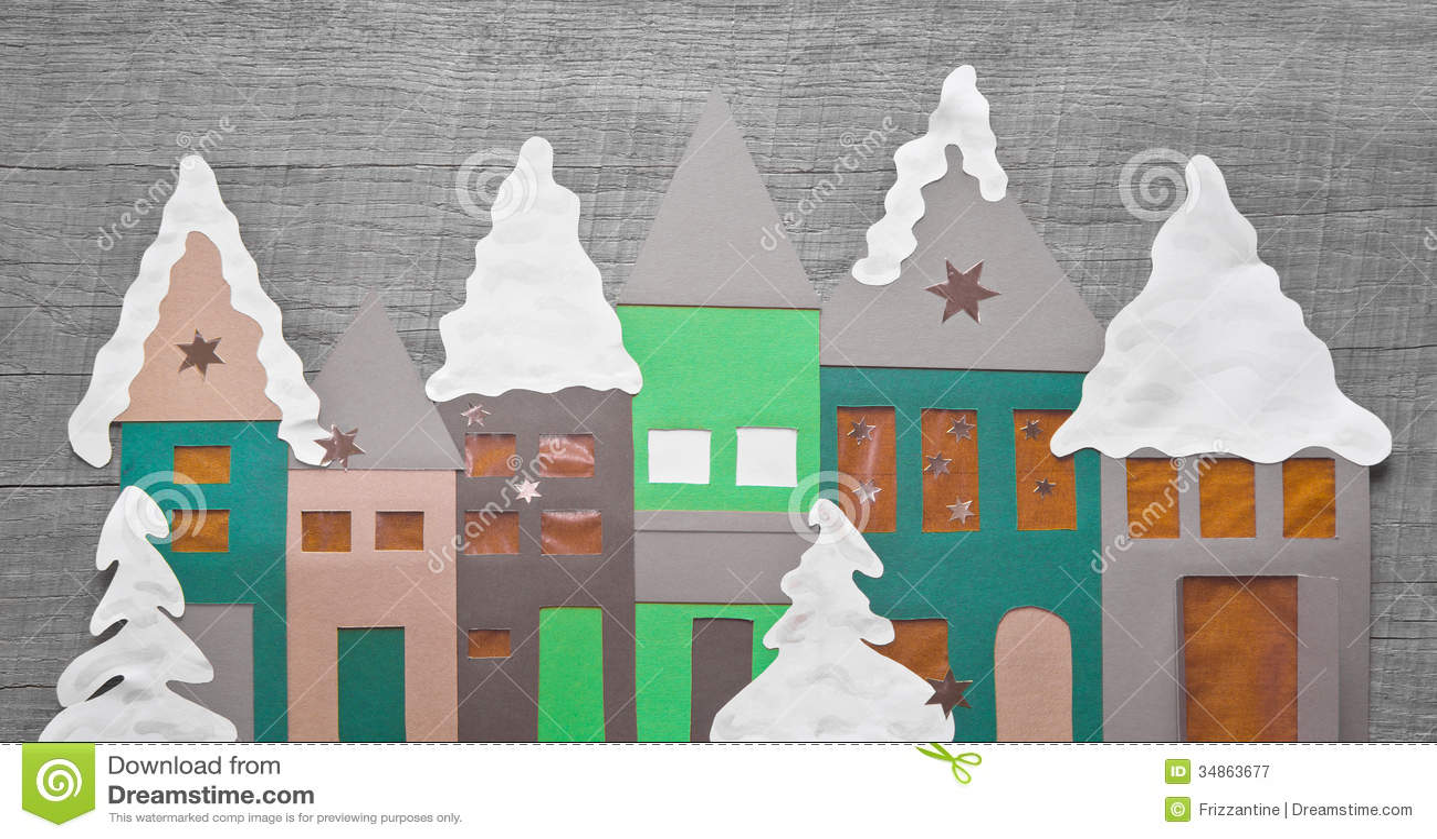 #A26029 Chic Minable Décoration De Noël Faite Main Avec Le  5413 décorations de noel en papier 1300x777 px @ aertt.com