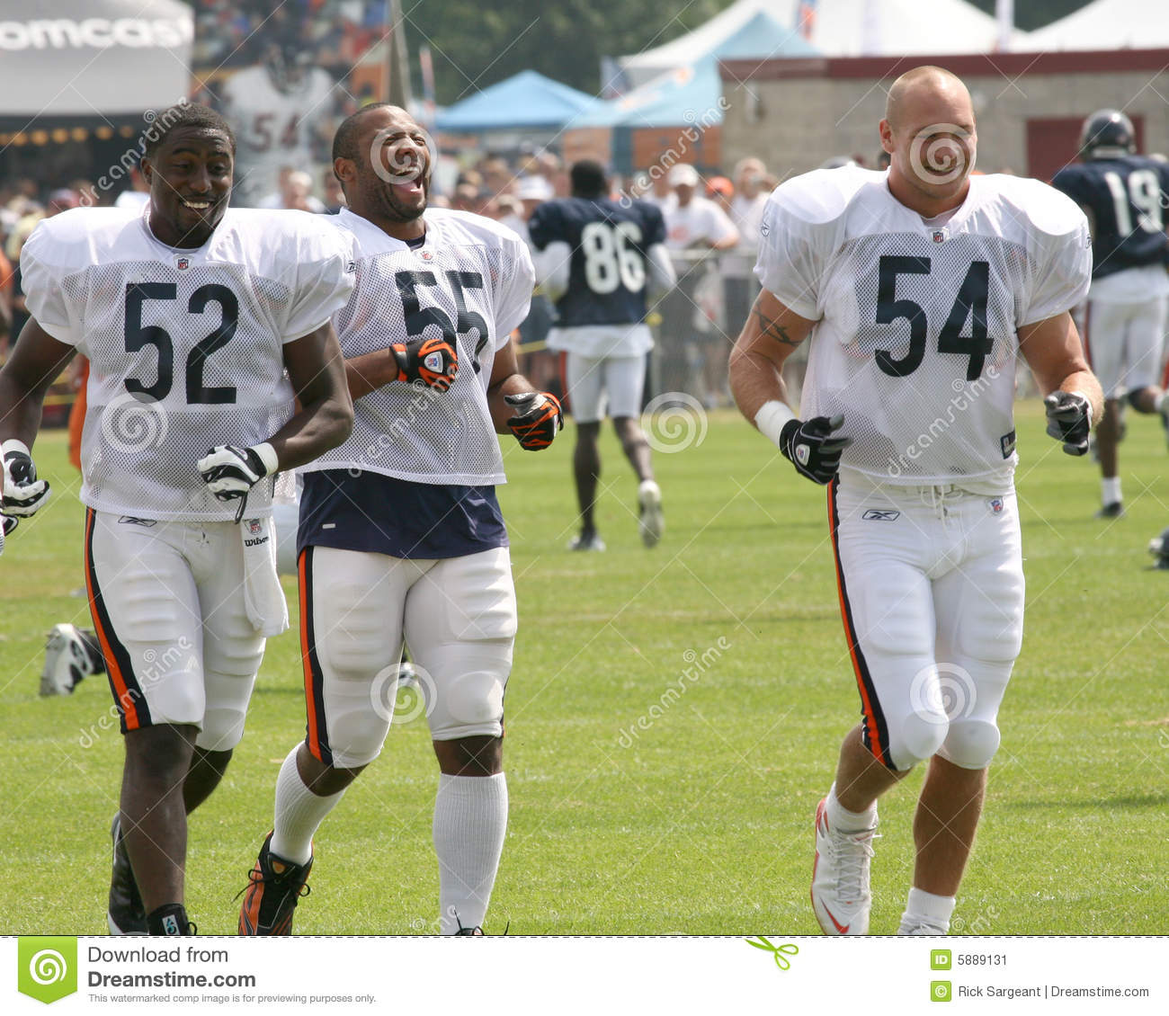 Chicago Bears Roster: Chicago Bears Players Editorial Photo