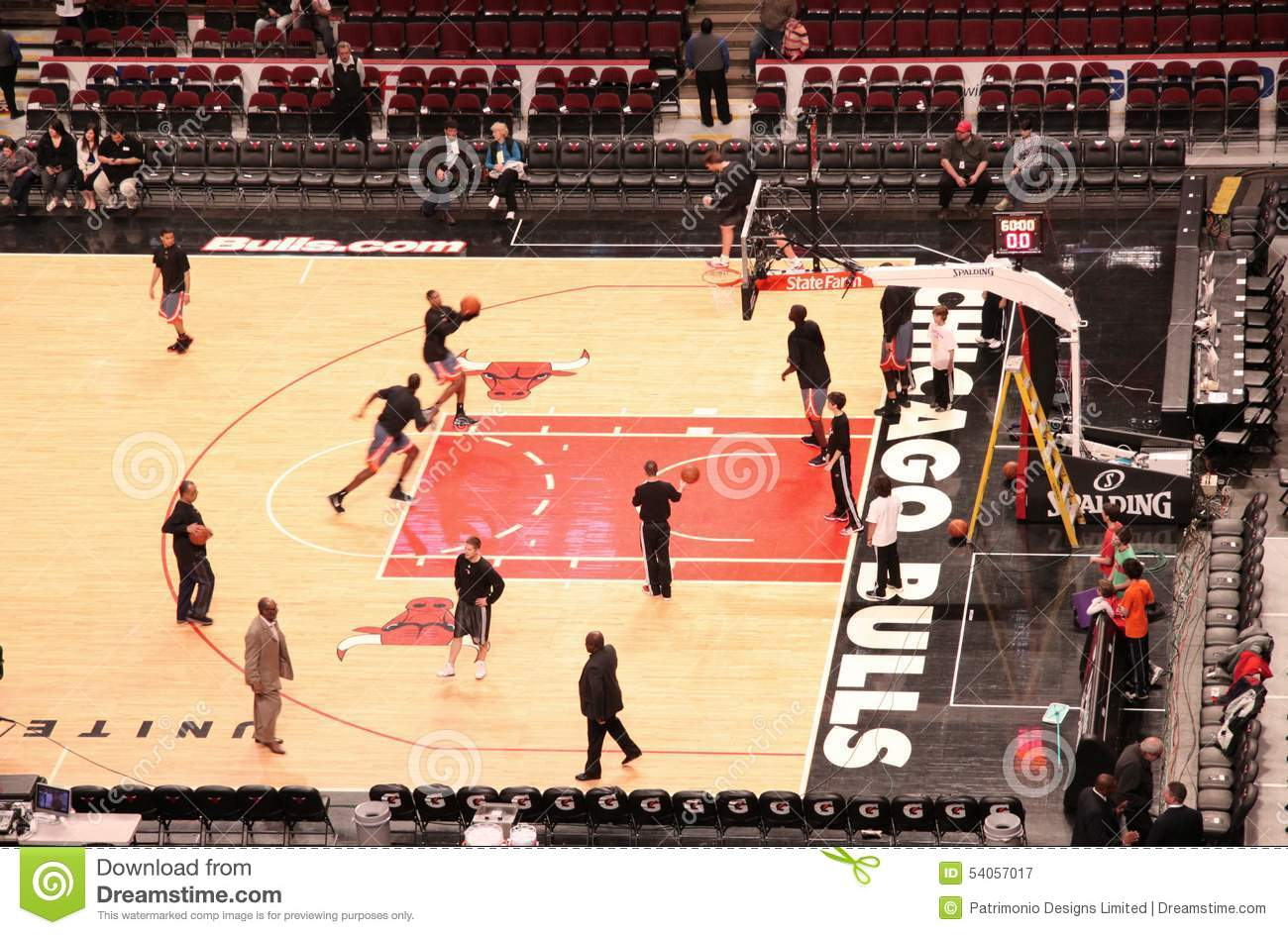Chicago Bulls United Center Sports Arena Editorial Photography ... f0bd5634bcd