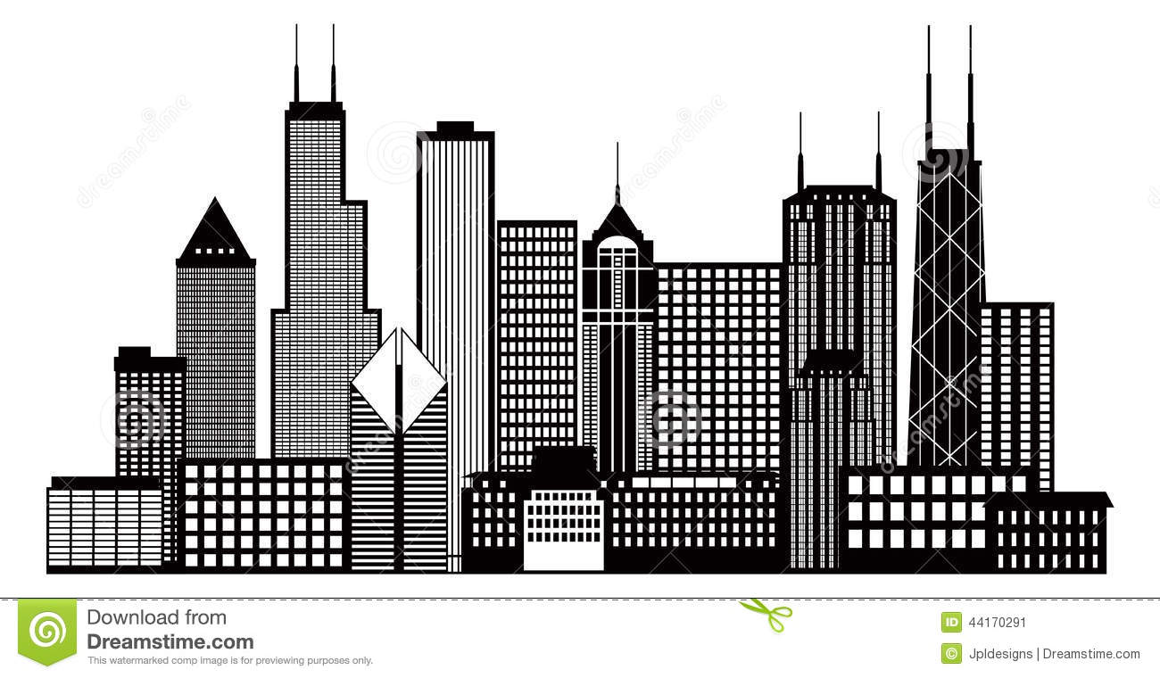 chicago skyline stock illustrations 852 chicago skyline stock