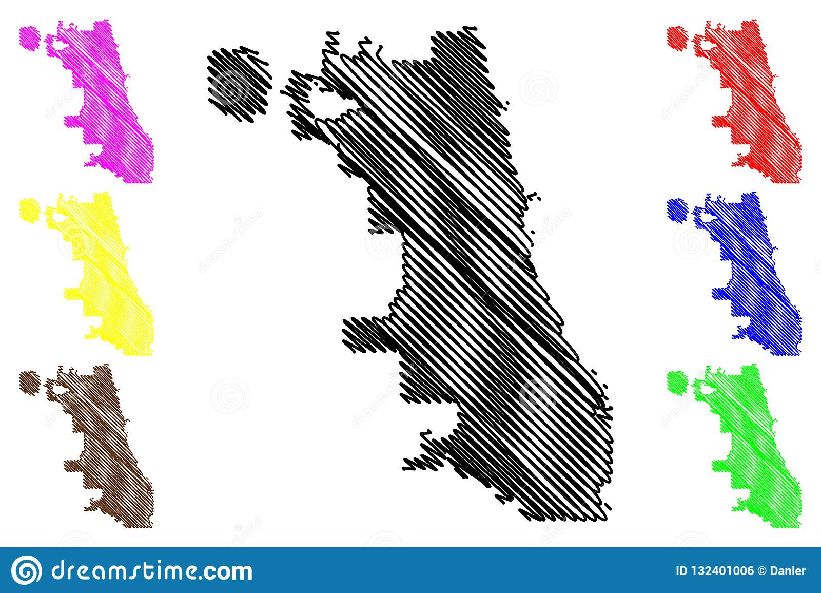 Chicago City map vector stock vector. Illustration of graphic ...