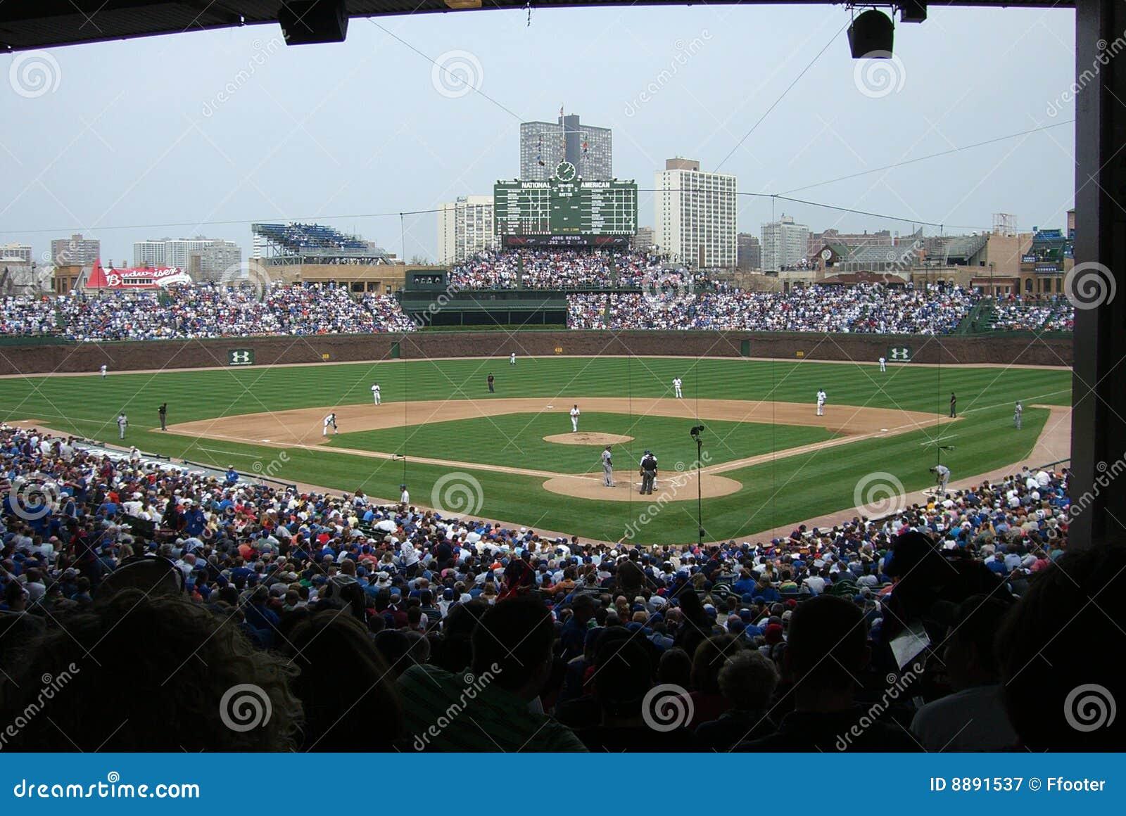 Chicago cubs поле wrigley