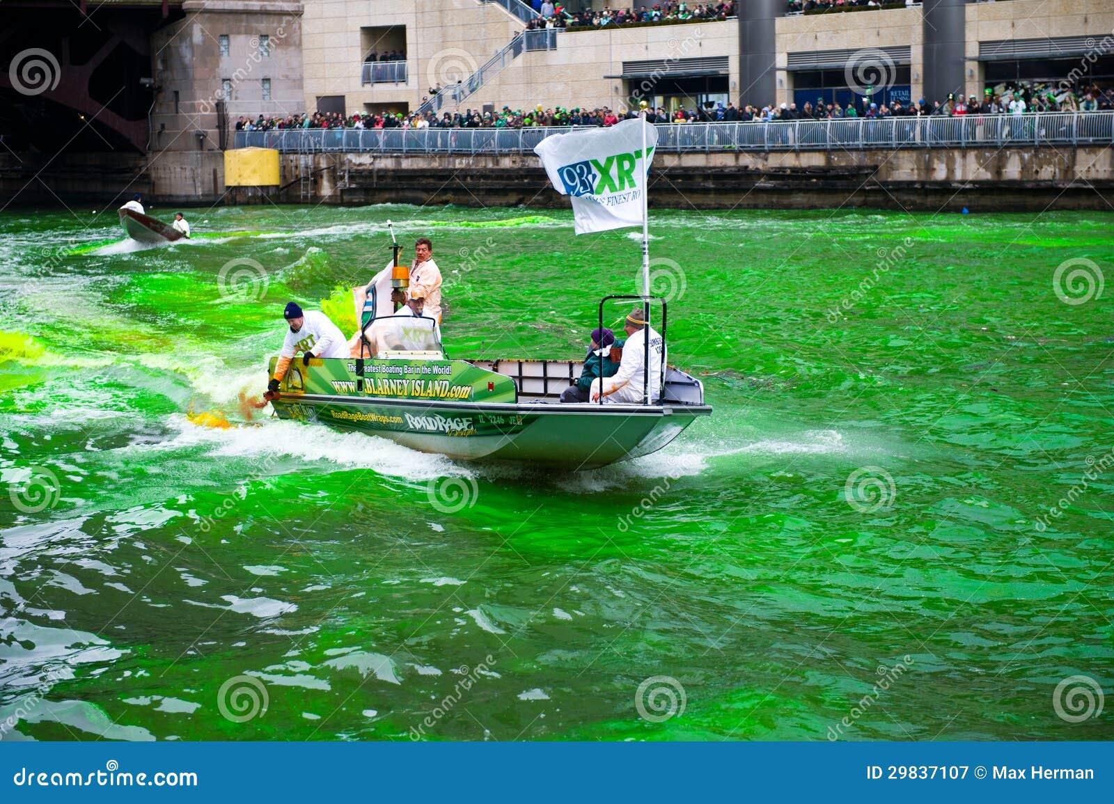Tingidura do Chicago River