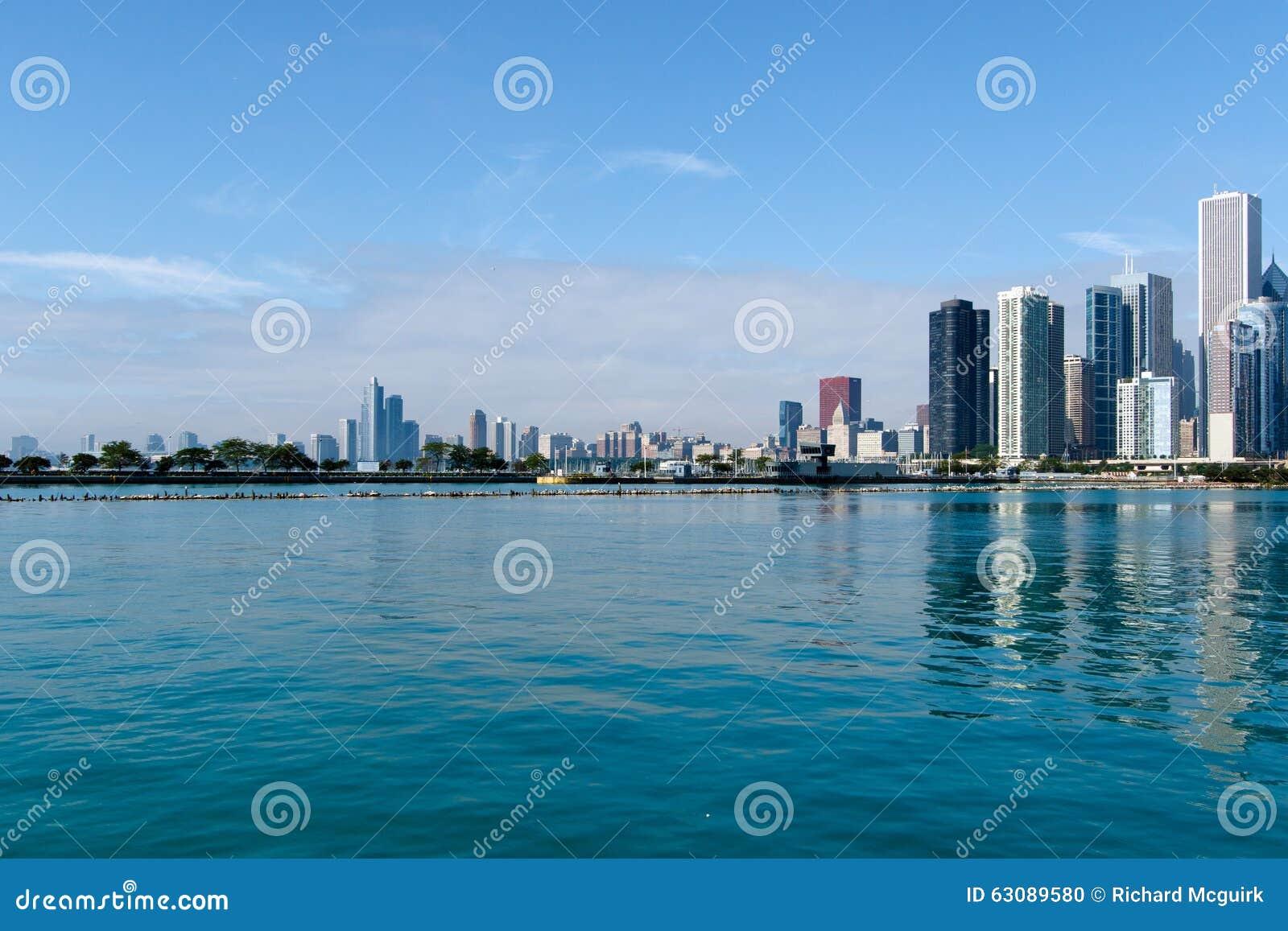 Download Chicago Du Centre, L'Illinois Image éditorial - Image du image, jour: 63089580
