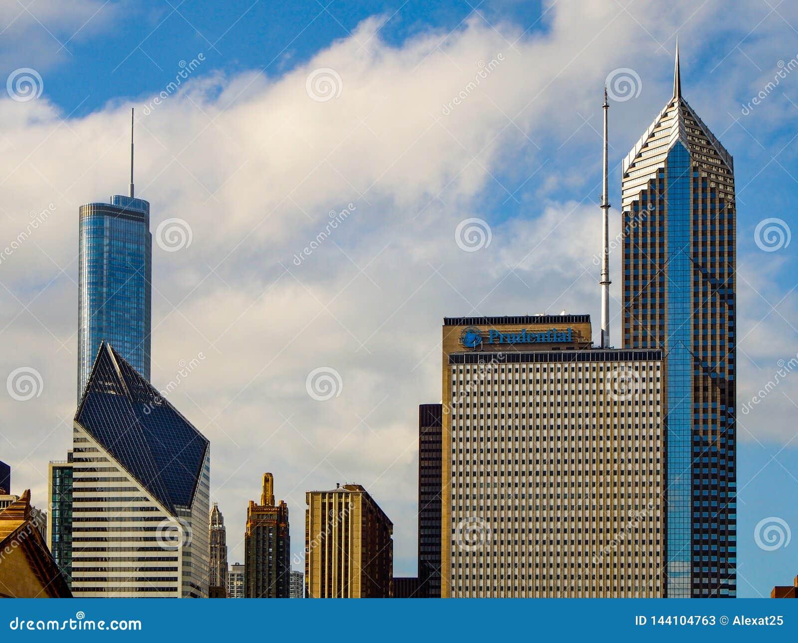 Chicago Förenta staterna - Chicago byggnader