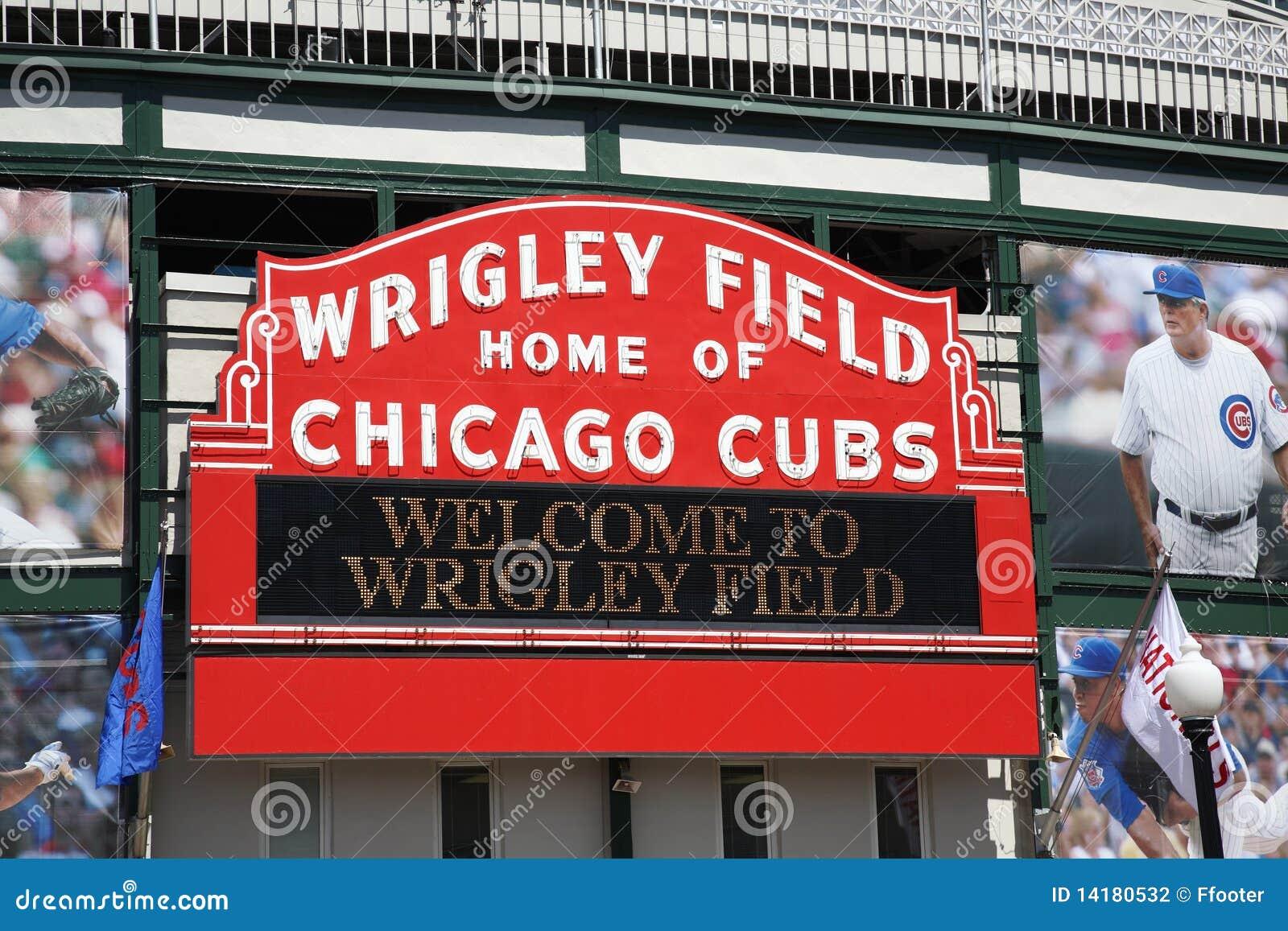 Chicago gröngölingar field wrigley