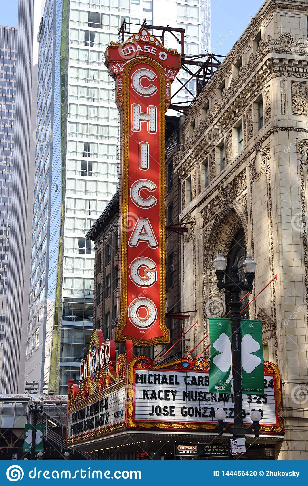 Chicago Theater on State Street