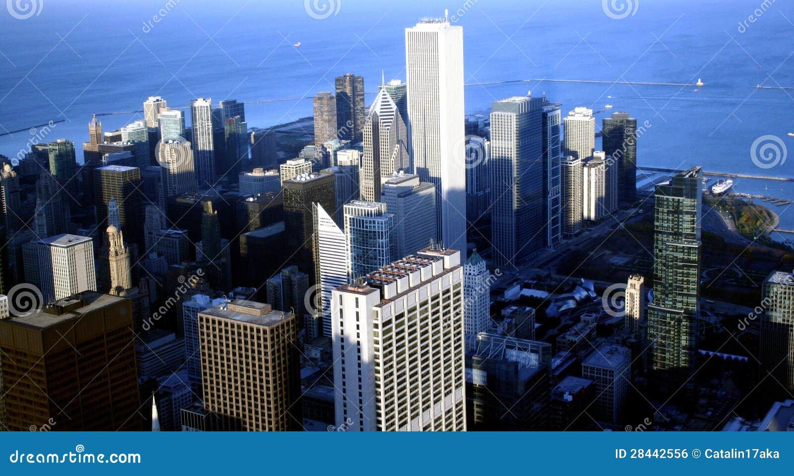 Chicago landscape royalty free stock image image 28442556 for Chicago landscape