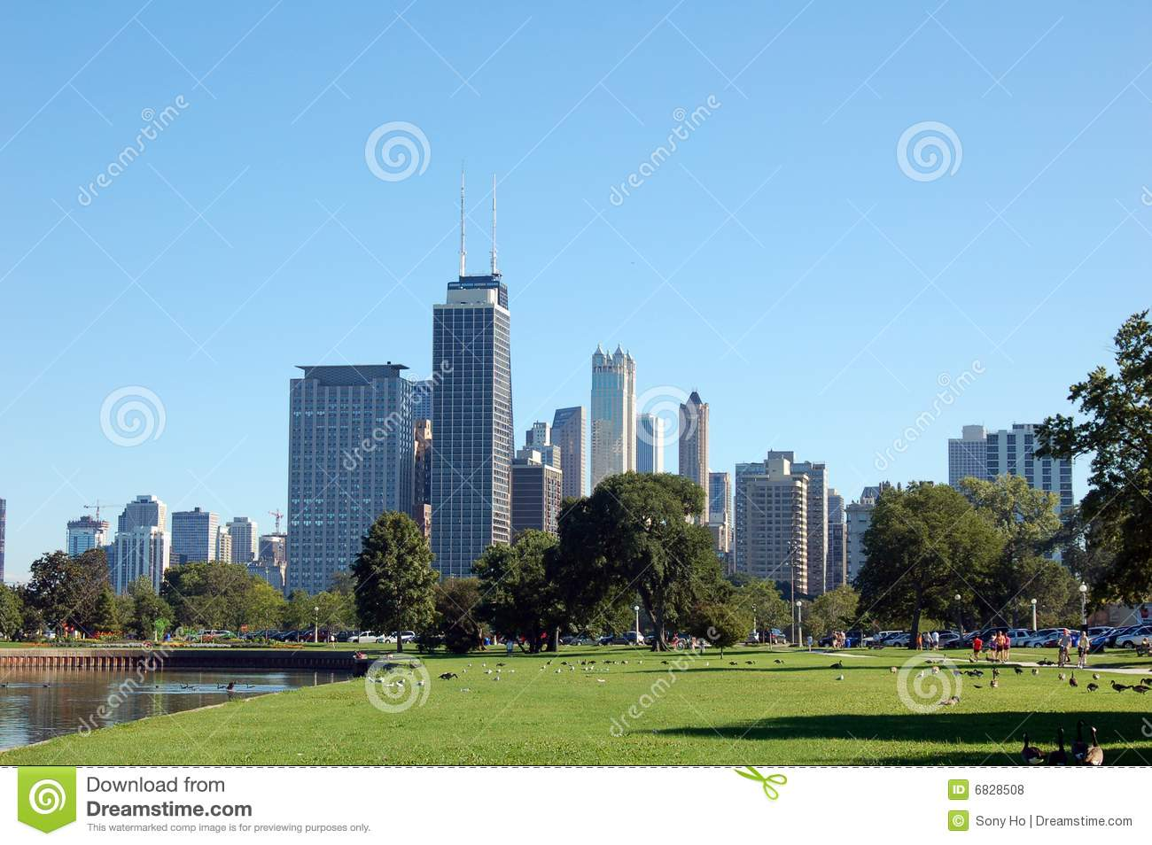 Chicago landscape royalty free stock photos image 6828508 for Chicago landscape