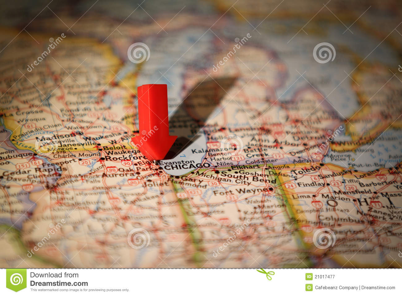 Chicago Map Royalty Free Stock Photography Image - Chicago map download