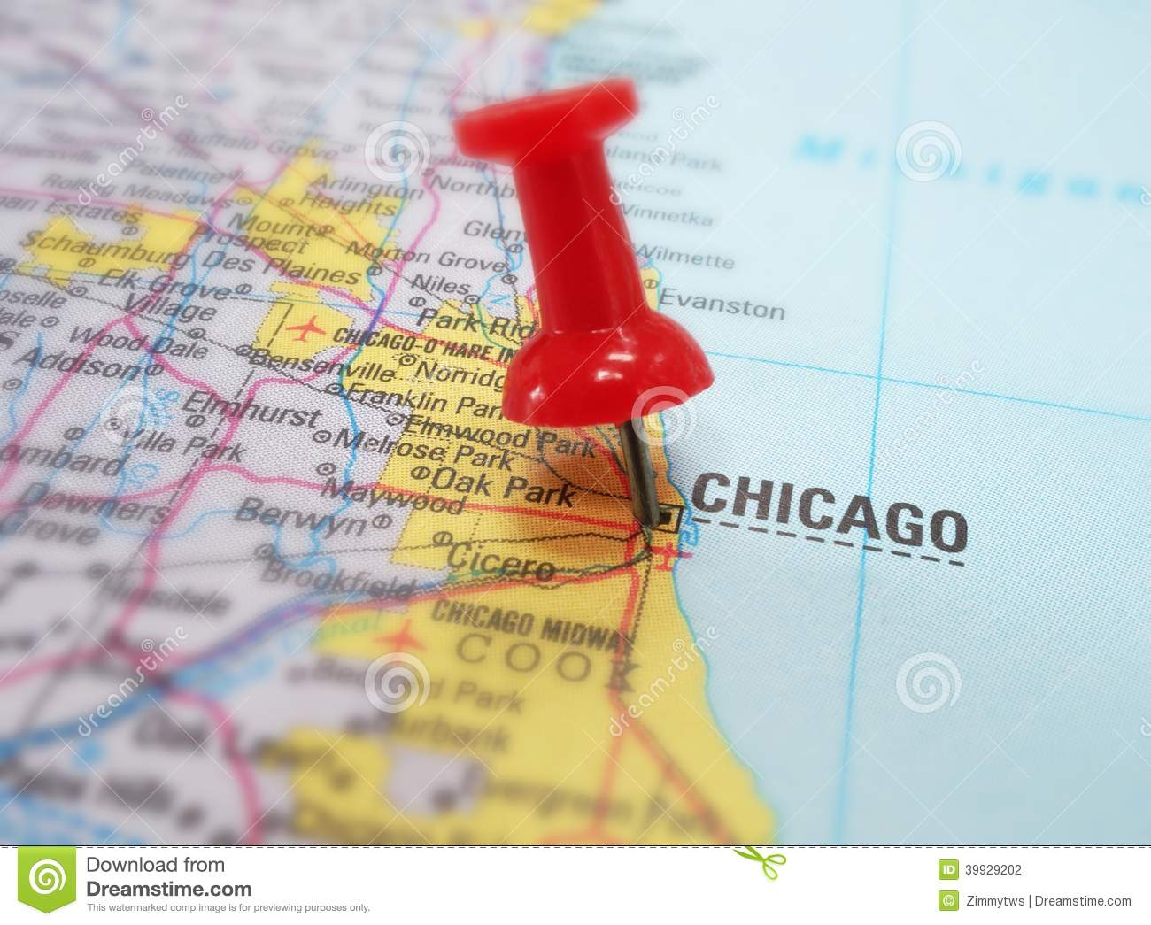 Chicago Map Usa World Map. Chicago Maps Illinois US Maps Of ...