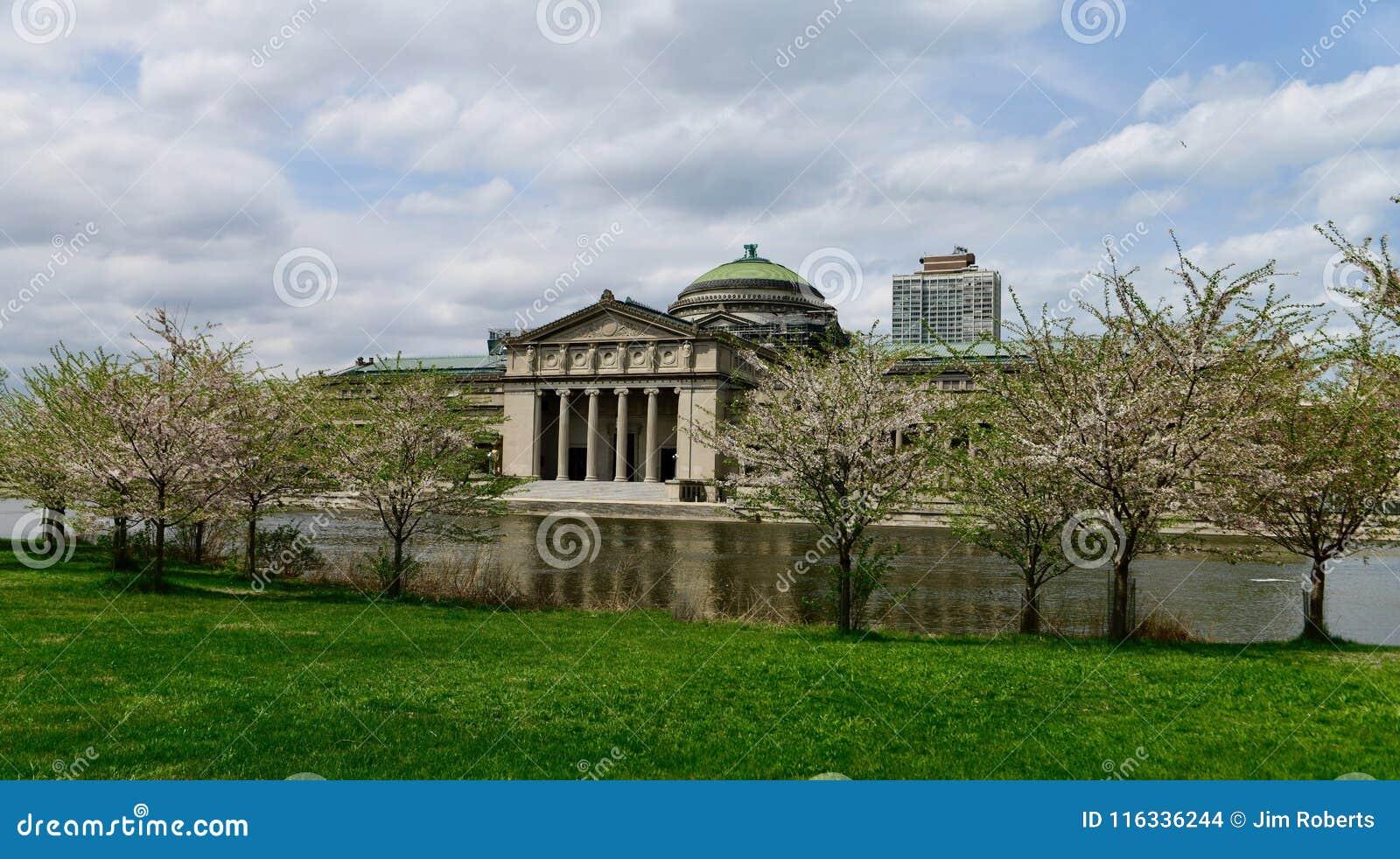 Chicago MOSI door Tot bloei komende Bomen