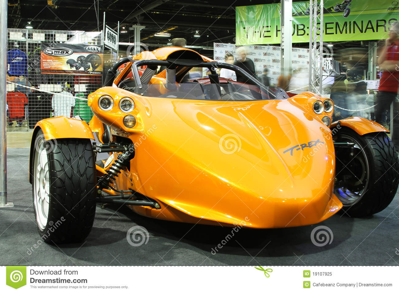 Chicago Motorcycle Show T Rex Trike Editorial Image Image Of