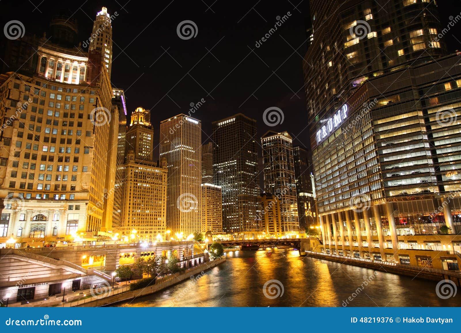 Chicago-Nacht