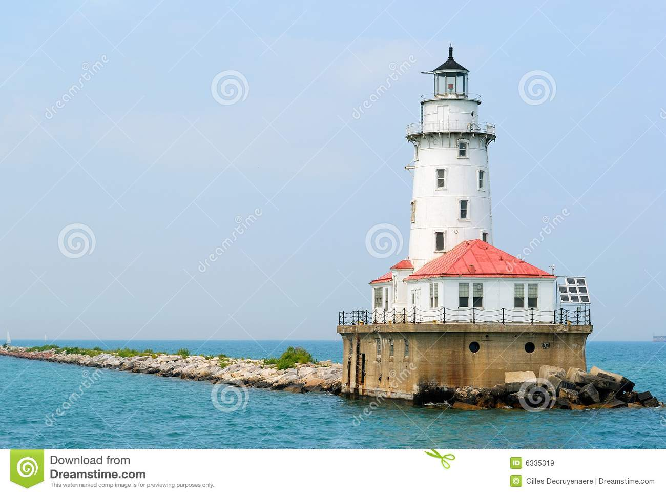 Chicago Navy Pier Lighthouse Royalty Free Stock Images Image - Chicago map navy pier
