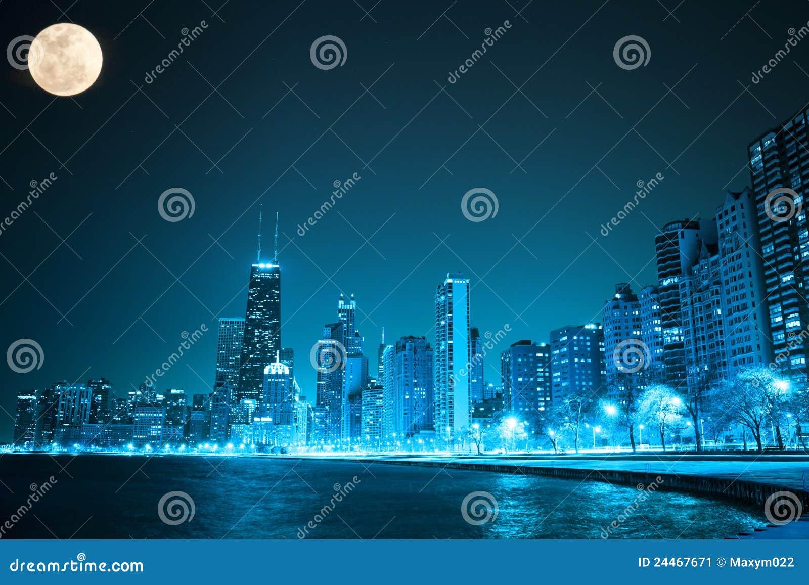 Chicago par nuit