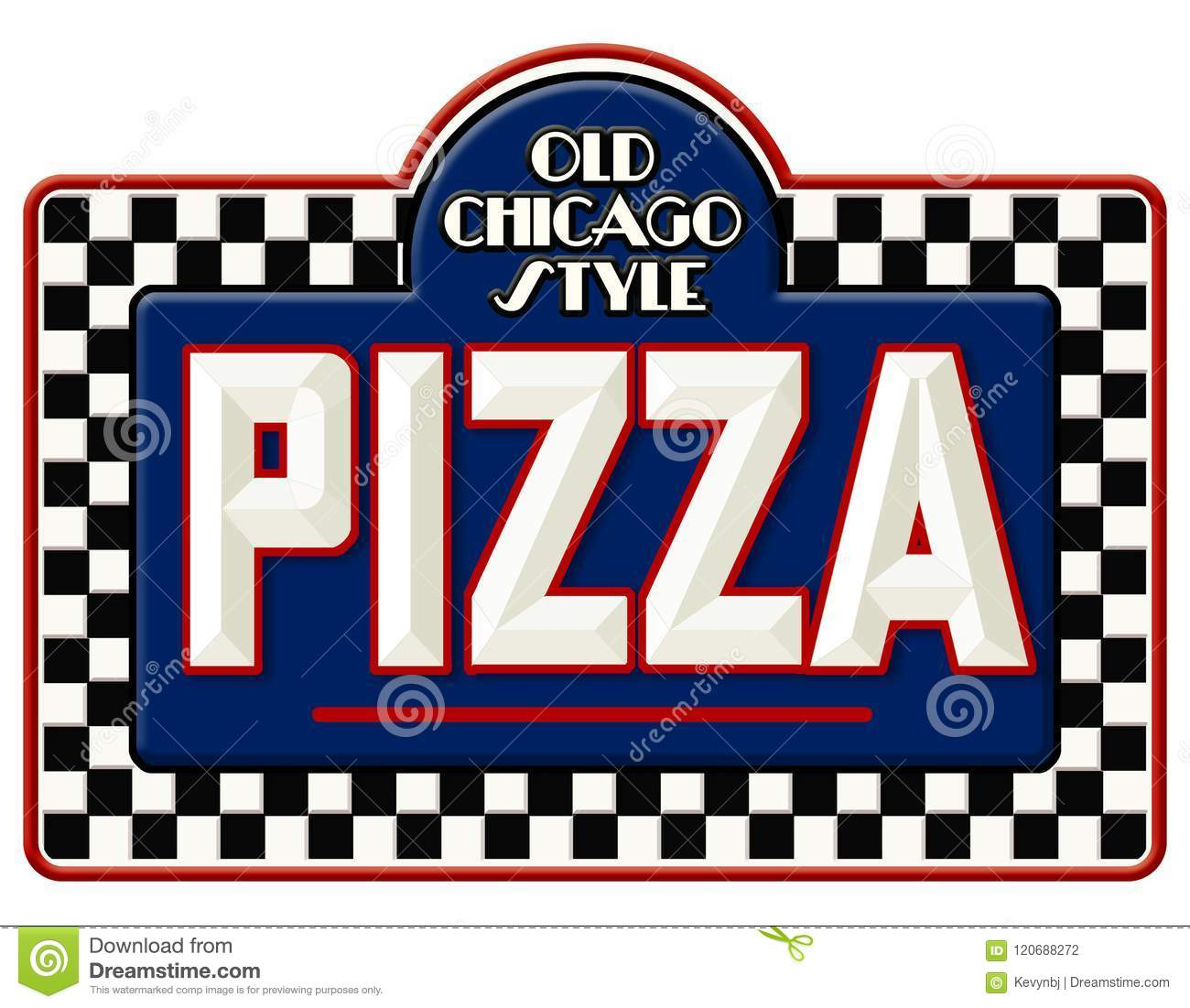 Chicago Pizza Sign