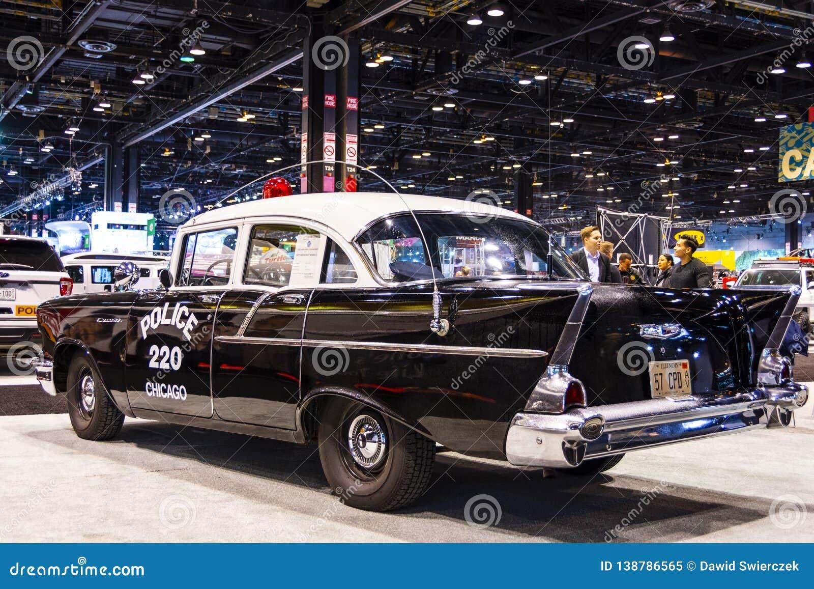 Chicago-Polizeifahrzeug 1957