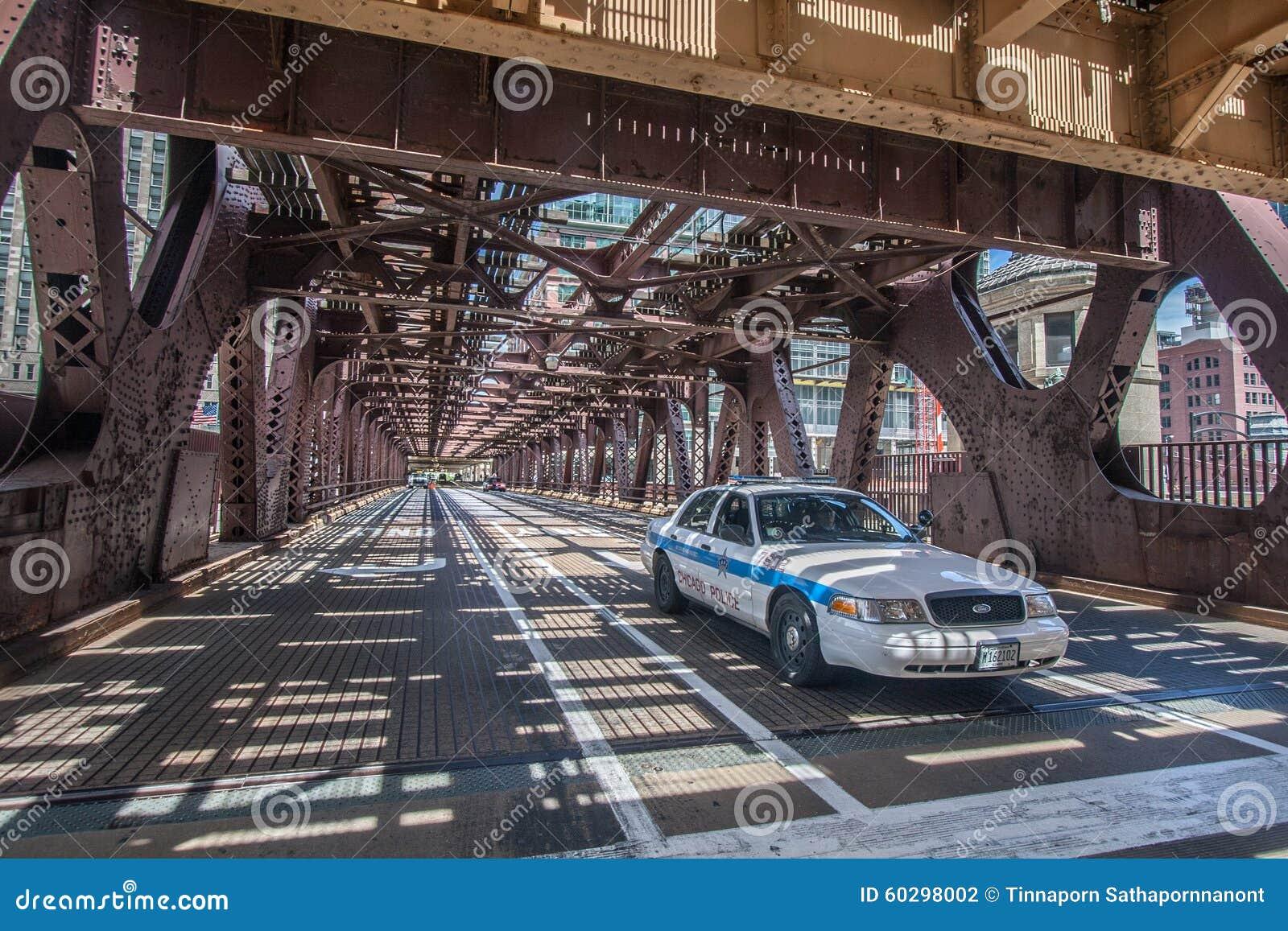 Chicago-Polizeiwagen
