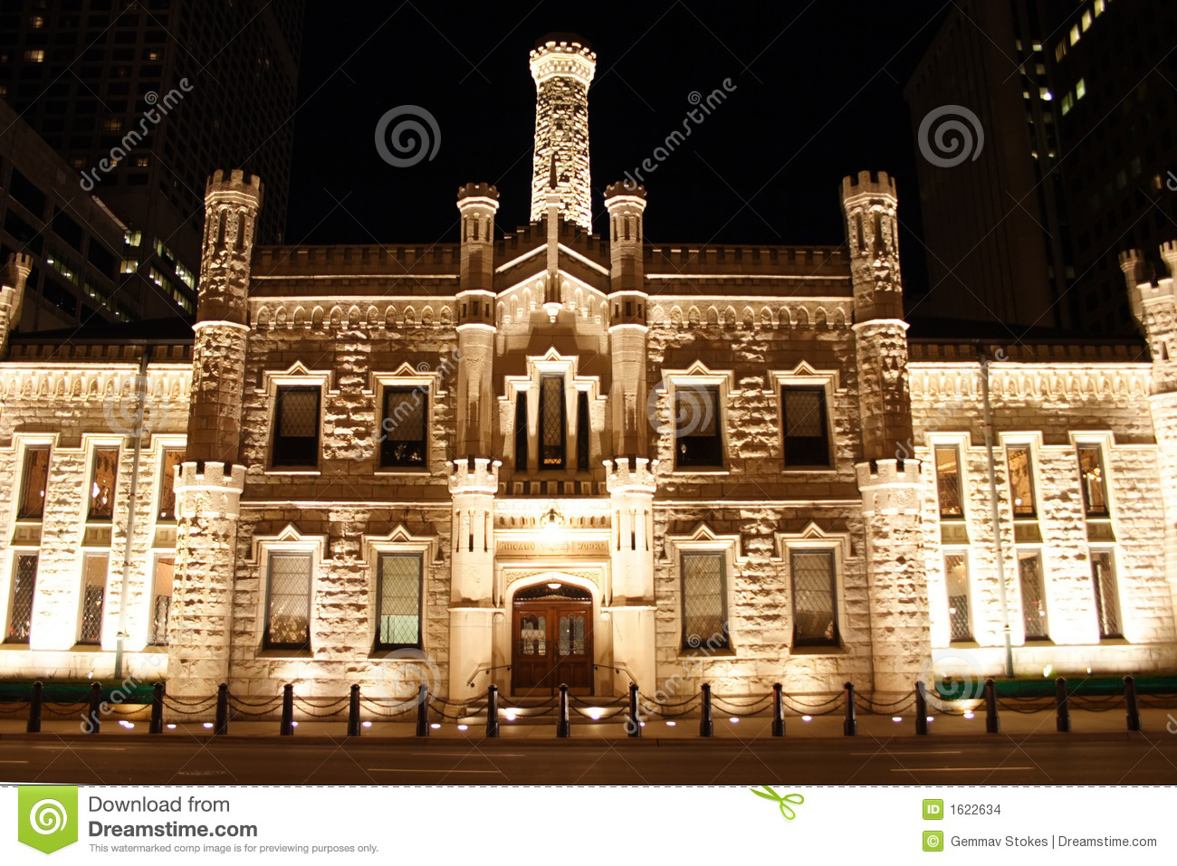 Chicago pumping station