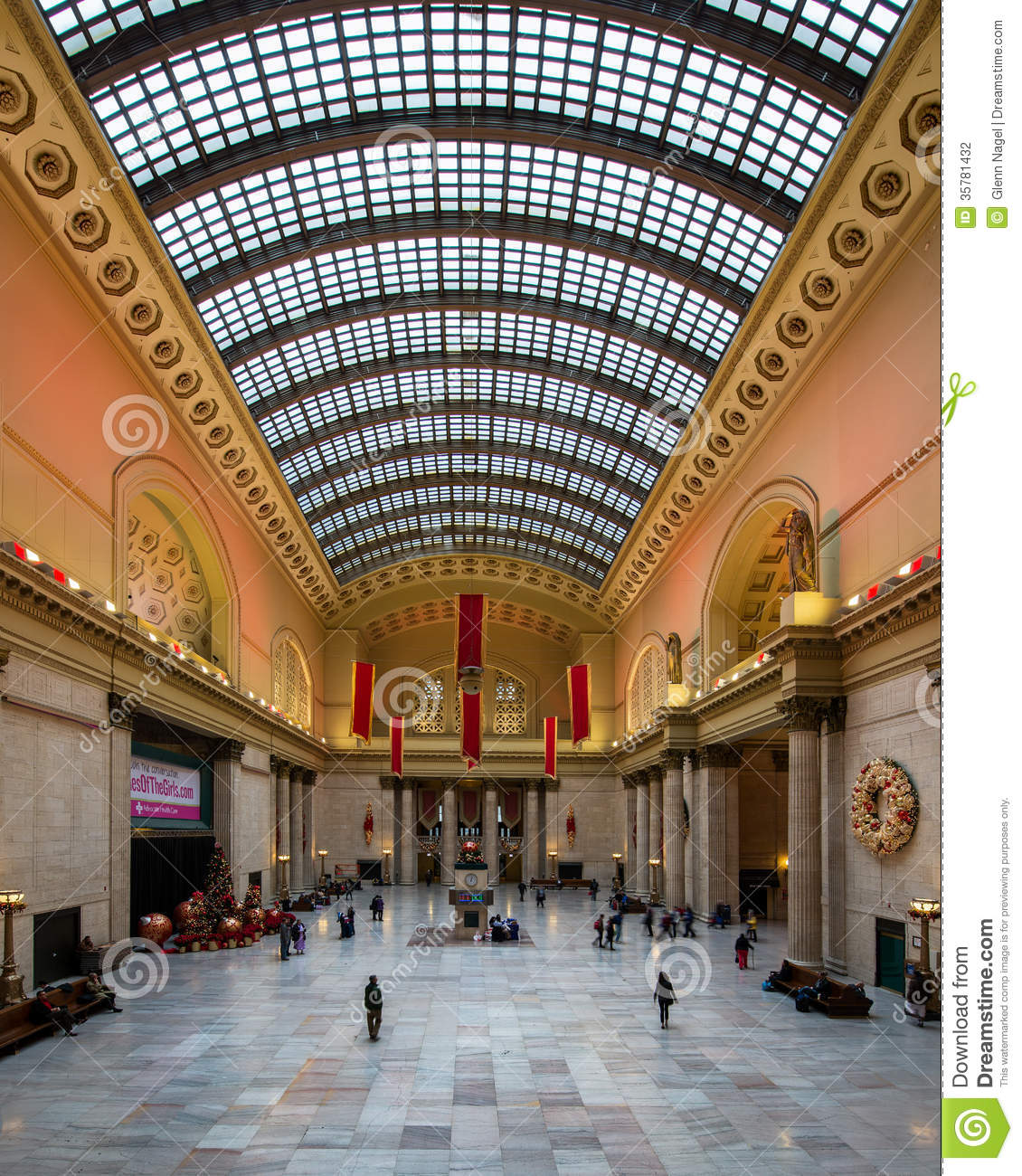 Chicagos Union Station Editorial Photography Image Of