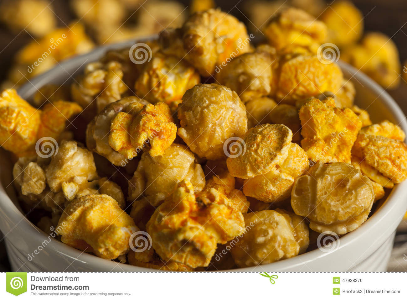 Chicago Style Caramel And Cheese Popcorn Stock Photo - Image: 47938370
