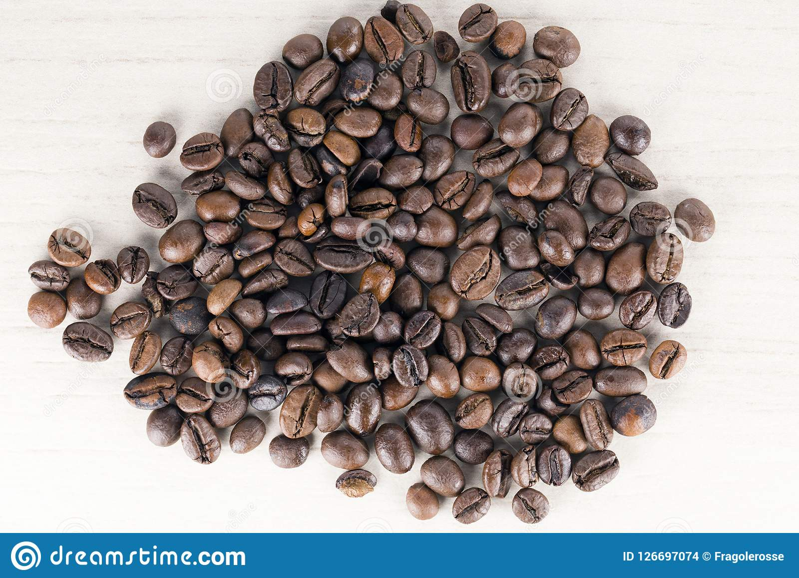 Chicchi di caffè bio-
