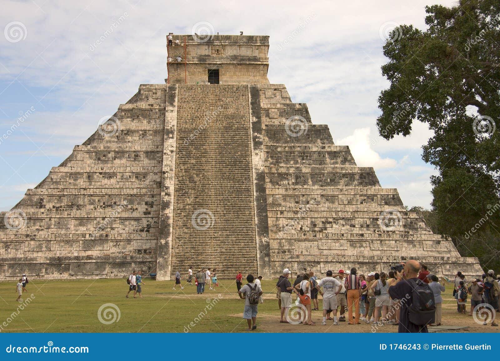 Chichen пирамидка itza