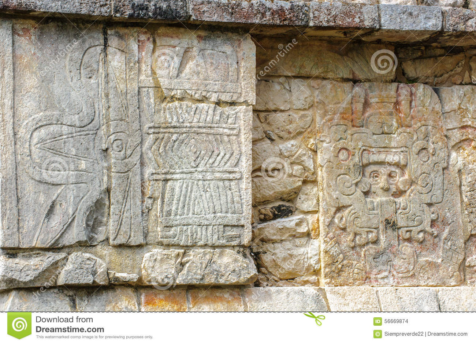 Chichen itza a large pre columbian city built by the maya civil royalty free stock photo buycottarizona