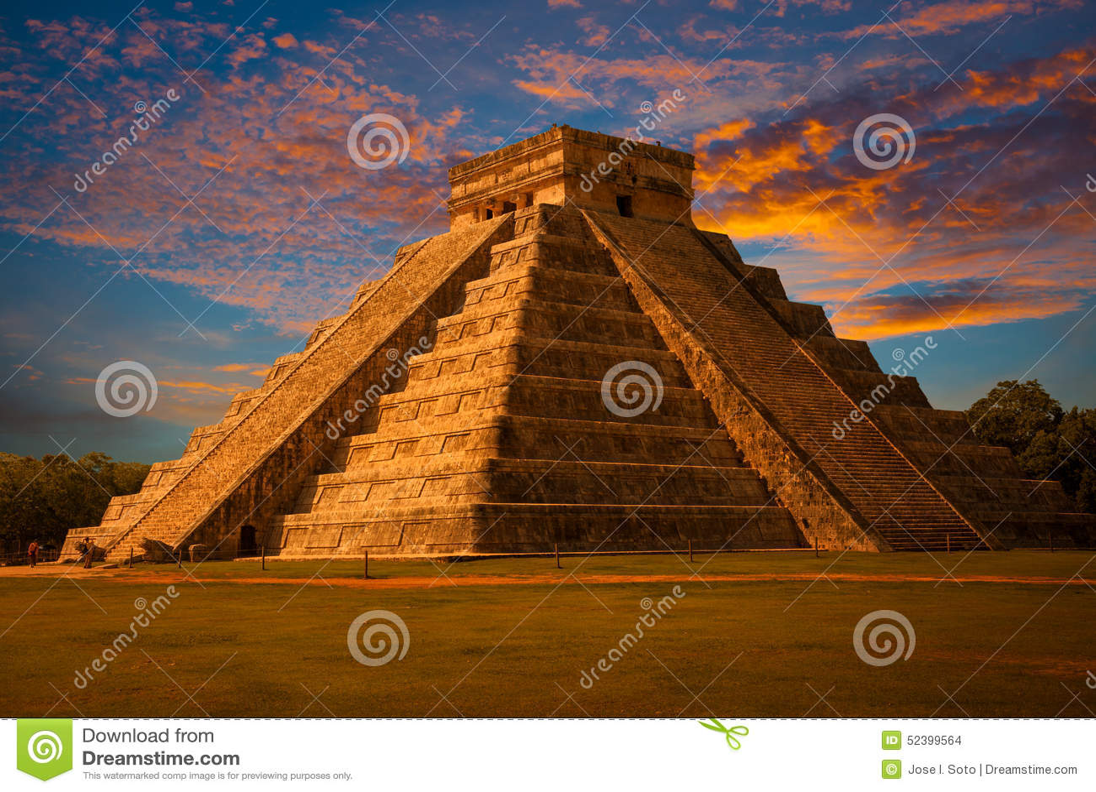 how to make a mayan pyramid