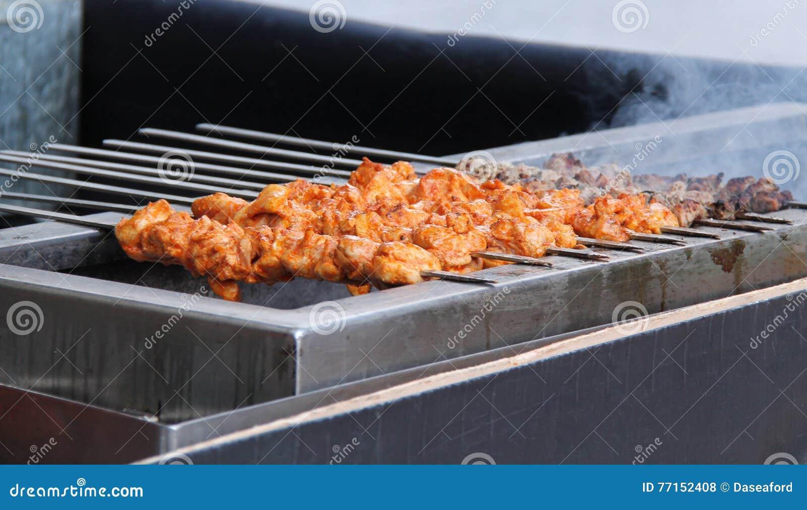Chiches-kebabs de viande
