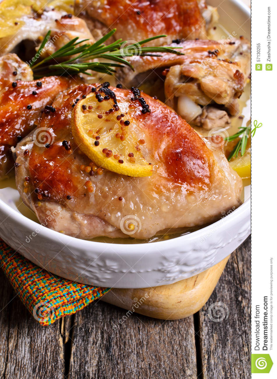 Stuffed Chicken Breasts With Rosemary-Orange Dressing Recipe ...