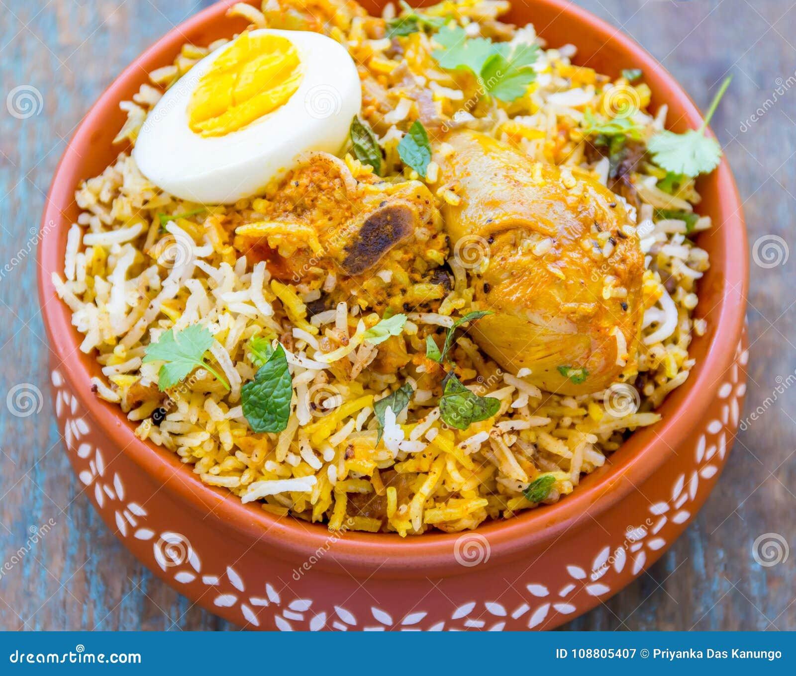 Chicken Biryani - Traditional Indian Rice Dish With ...