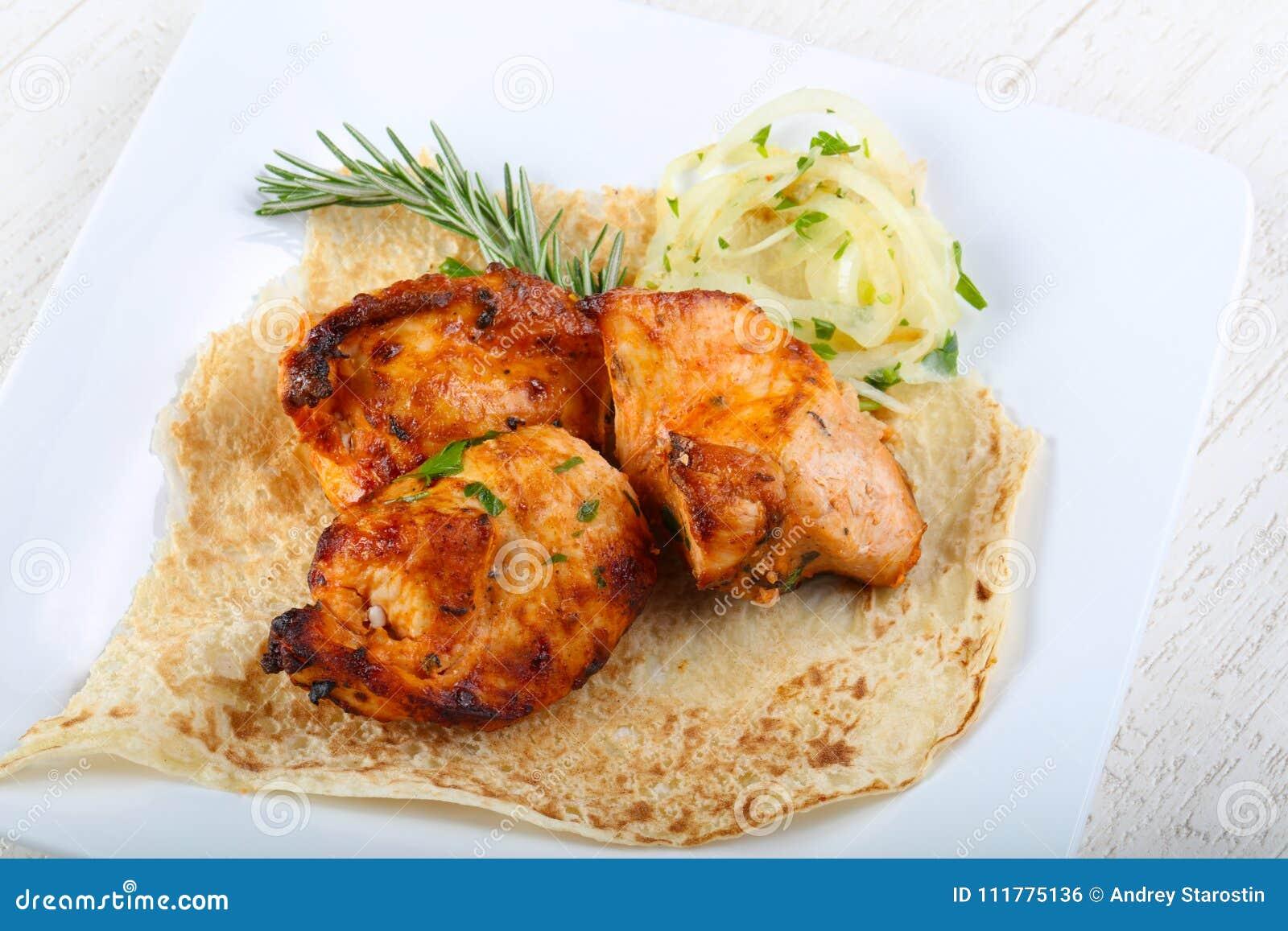 Chicken breast bbq