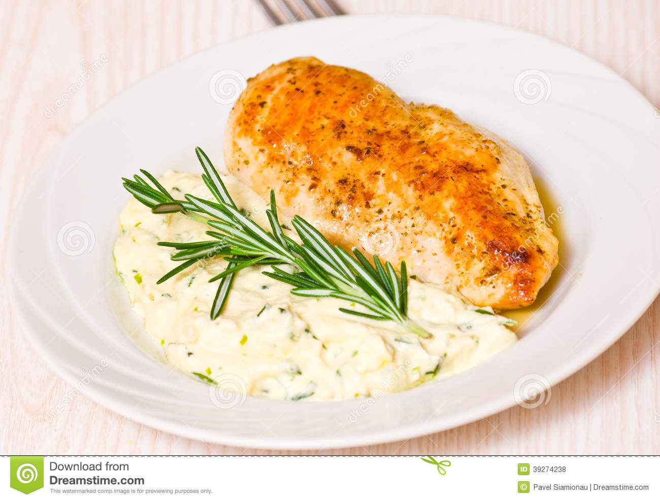 Garnish for chicken can be different 92