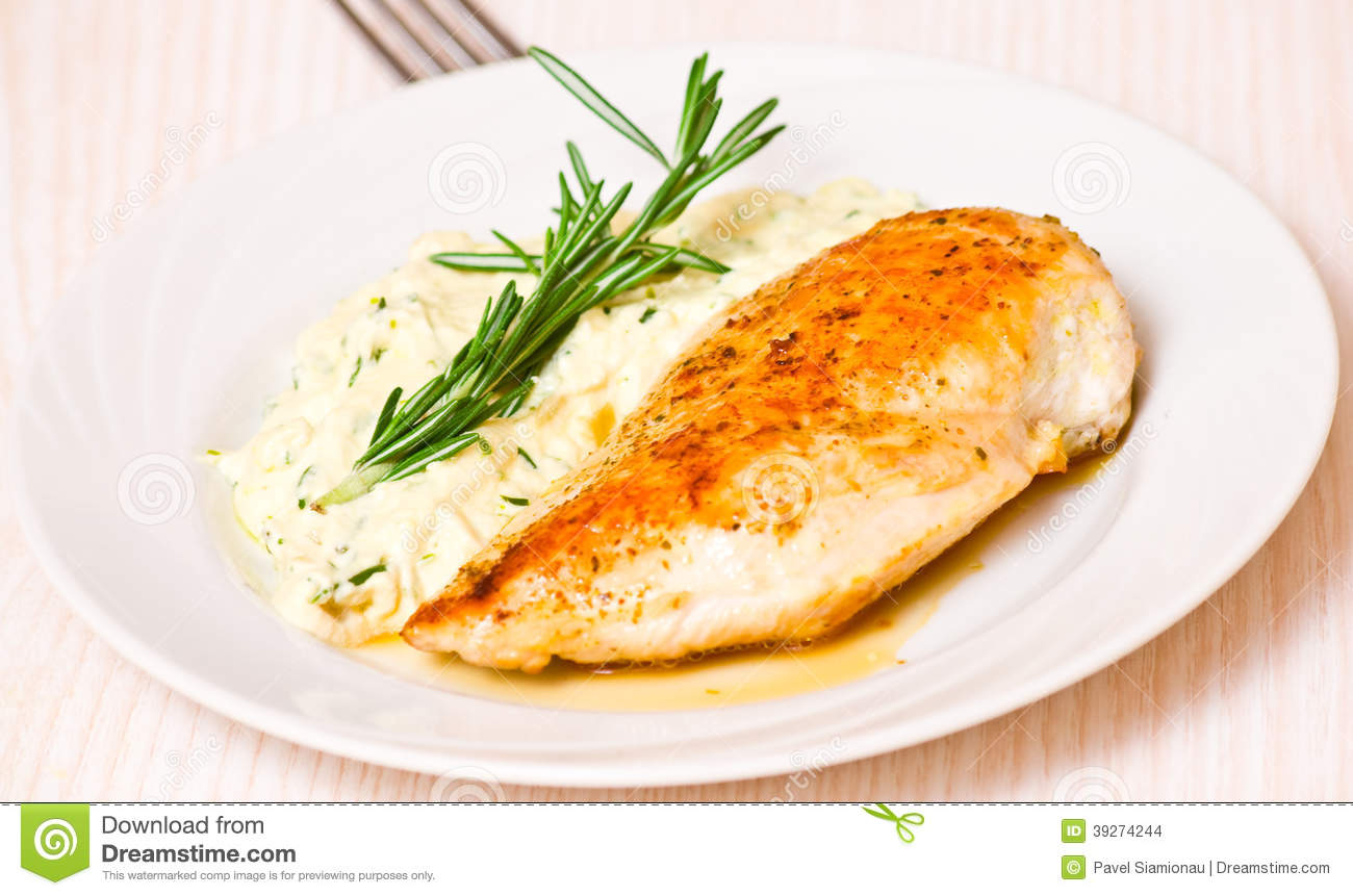 Garnish for chicken can be different 49