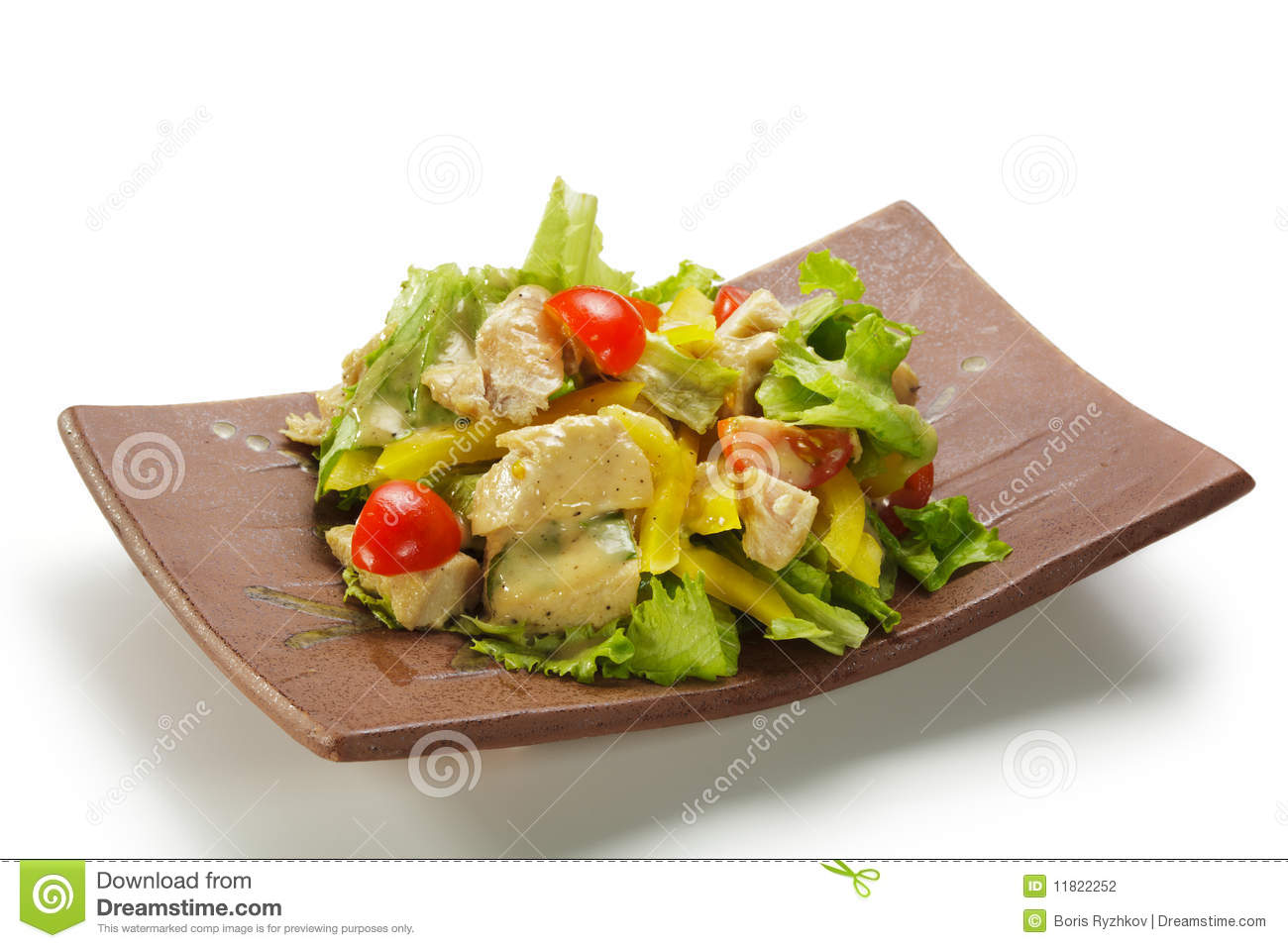 how to cook chicken breast for salad