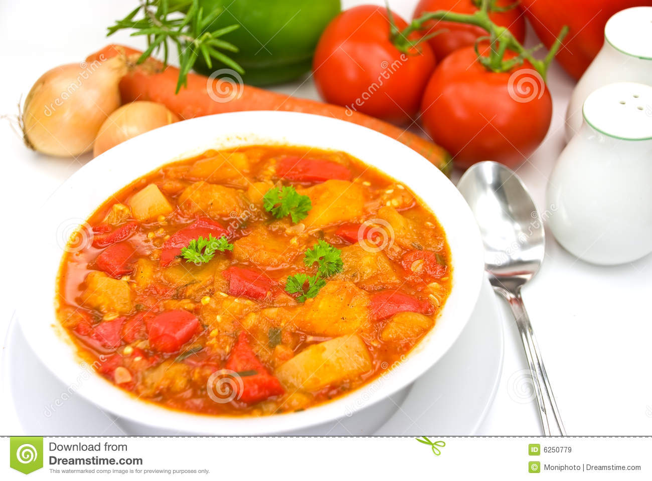 Chicken breast soup-stew- with mixed vegetable an