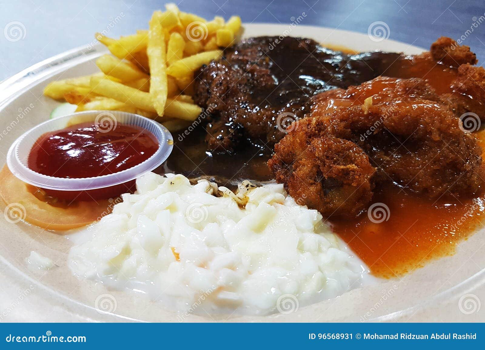 Chicken Chop Set