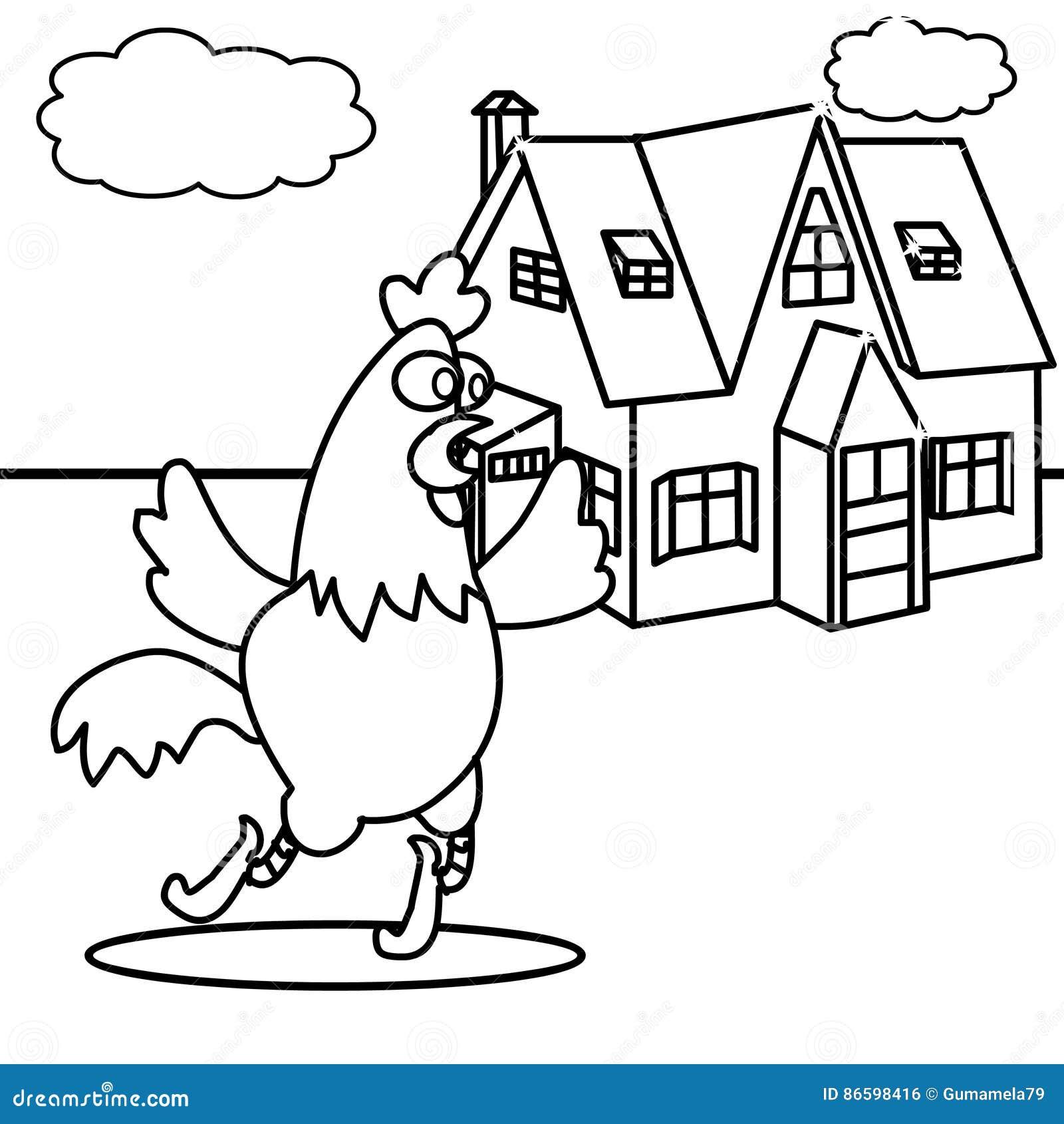 Chicken House Stock Illustrations 5 365 Chicken House Stock Illustrations Vectors Clipart Dreamstime