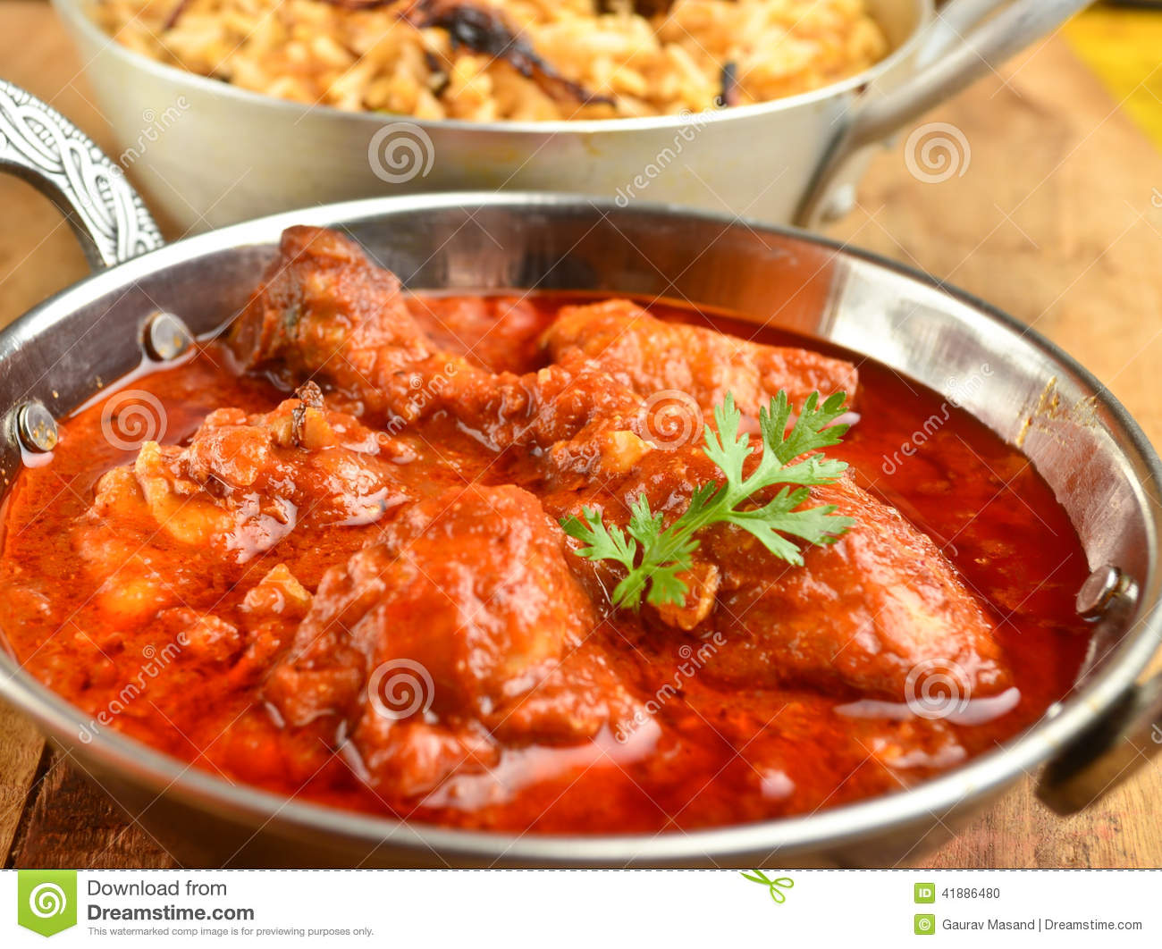 Chicken Curry stock photo. Image of chapati, appetizer ... - photo#37