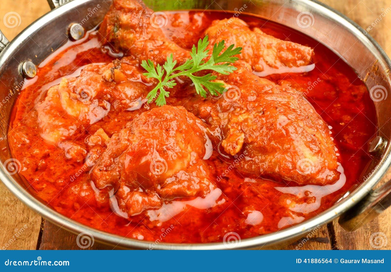 eb2f47c0 Chicken Curry stock photo. Image of delicious, katori - 41886564