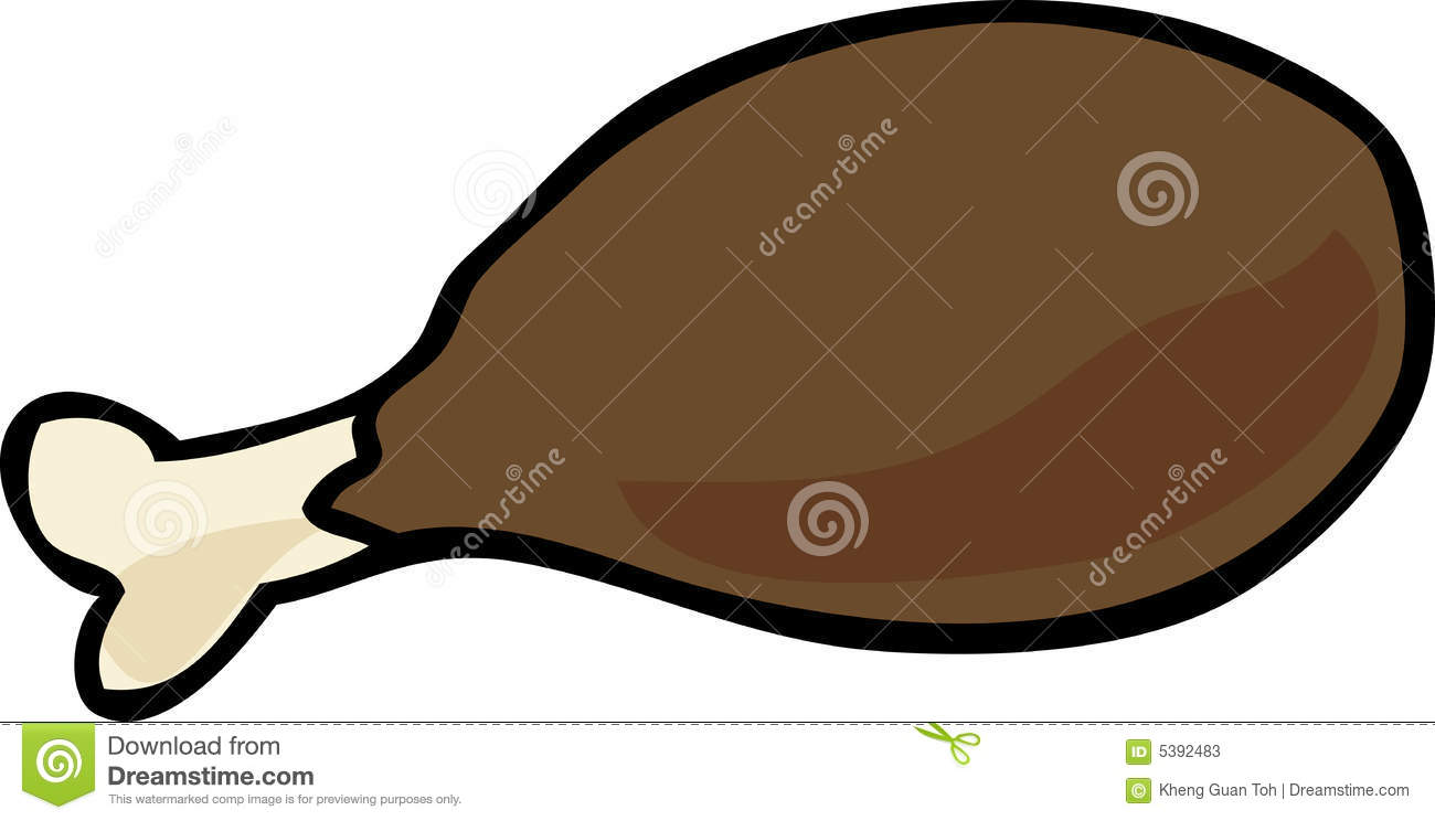 cooked chicken cartoon images