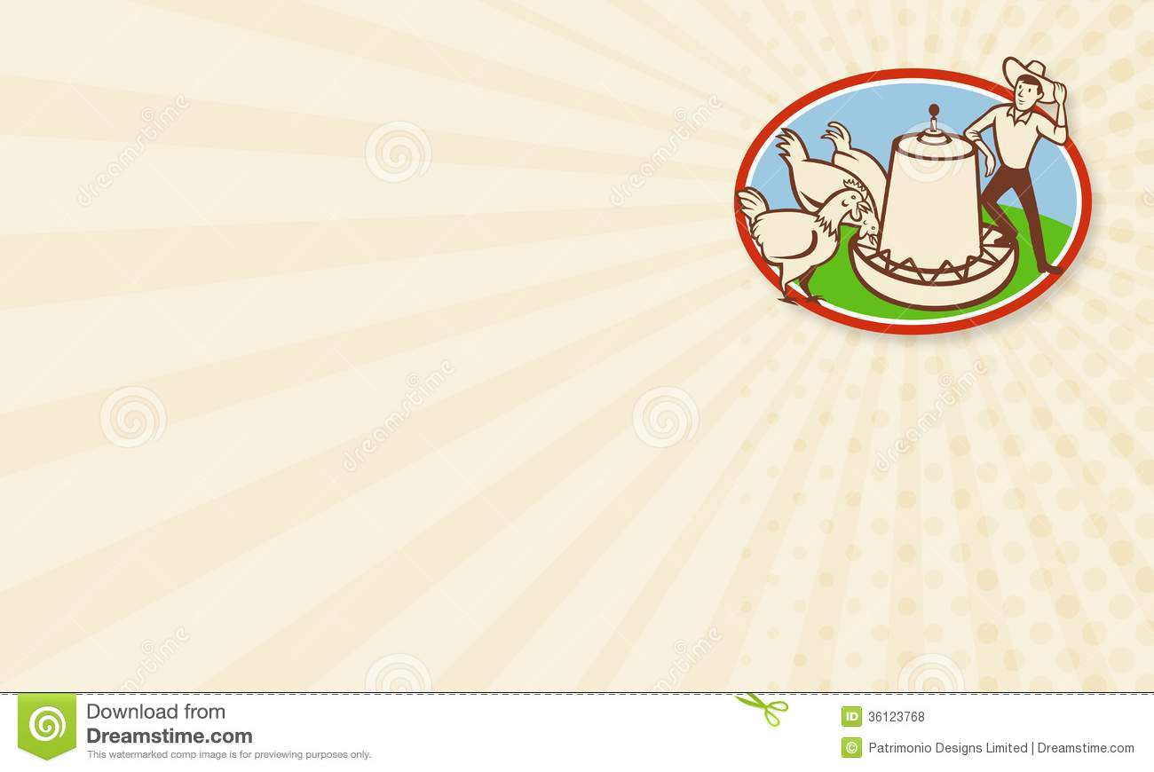 Chicken farmer feeder cartoon stock illustration image 36123768 royalty free stock photo magicingreecefo Choice Image