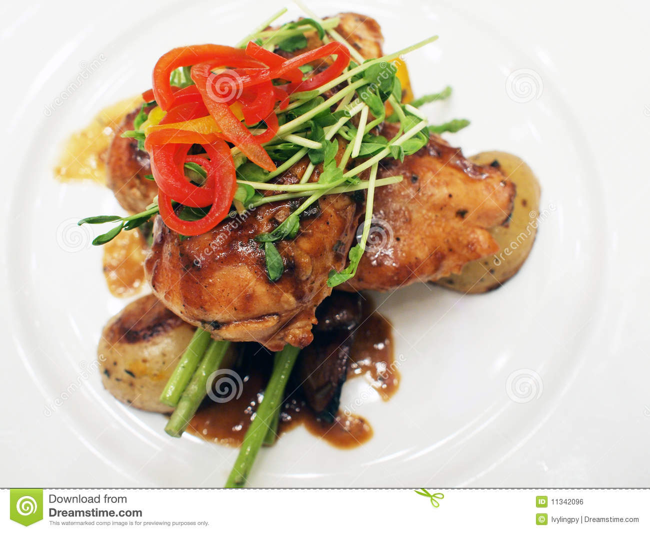 Chicken fillet royalty free stock image image 11342096 for Cuisine western