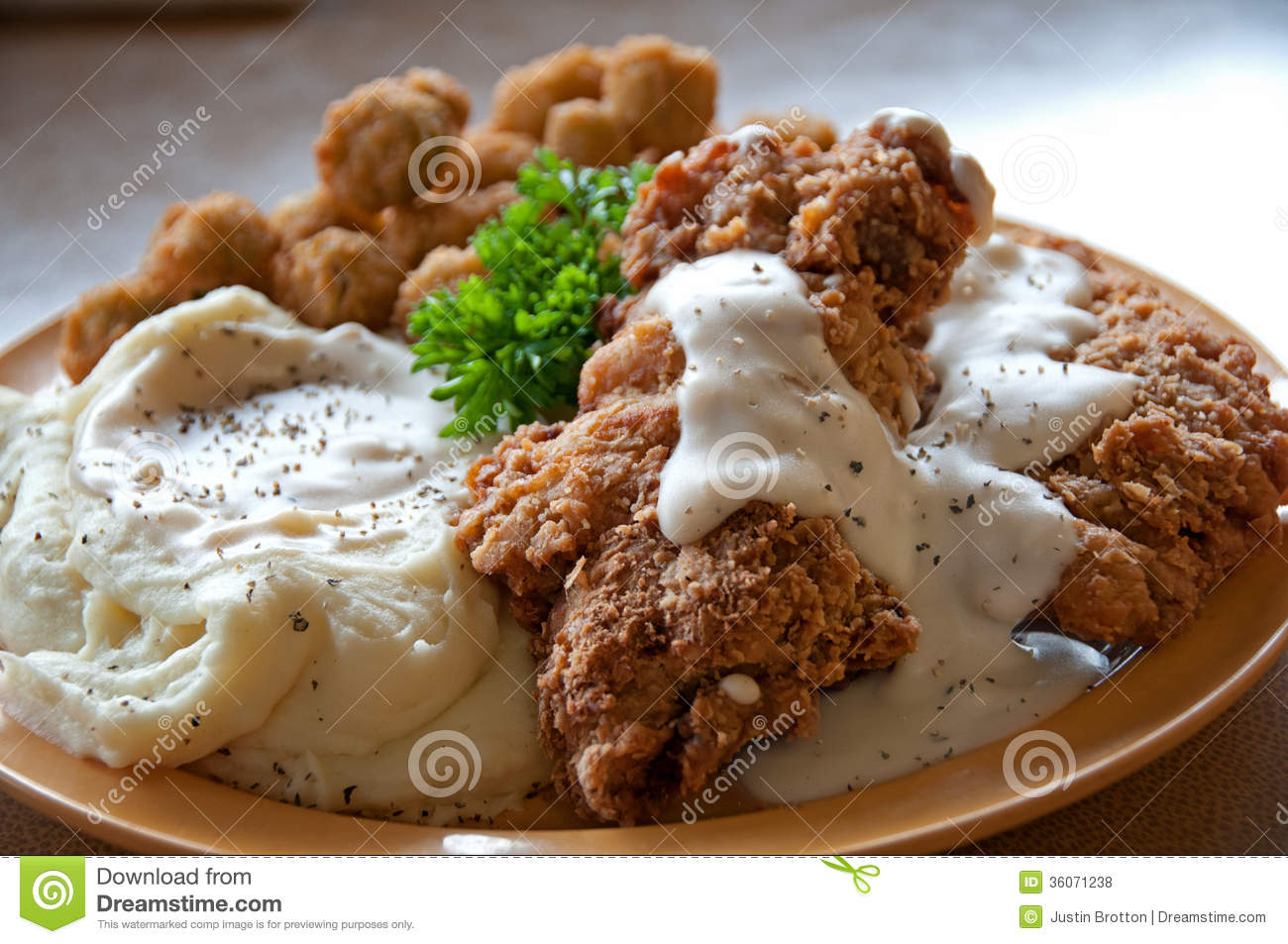 Chicken-Fried Steak Nuggets With Beer And Bourbon Gravy ...