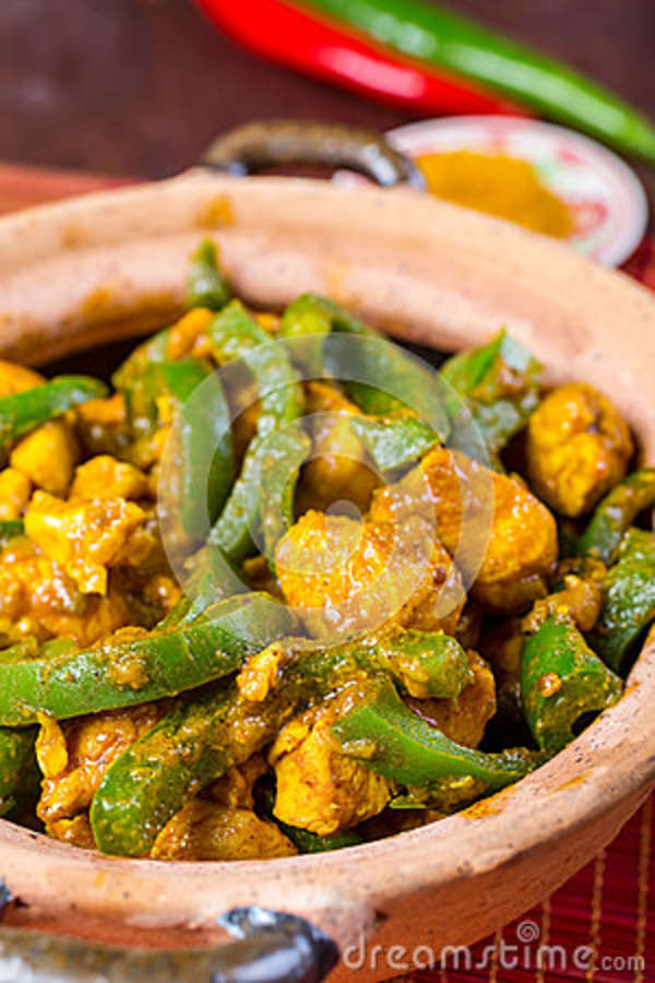 Chicken Jalfrezi Indian Or Pakistani Curry Stock Photo Image Of Pepper Fresh 43039540