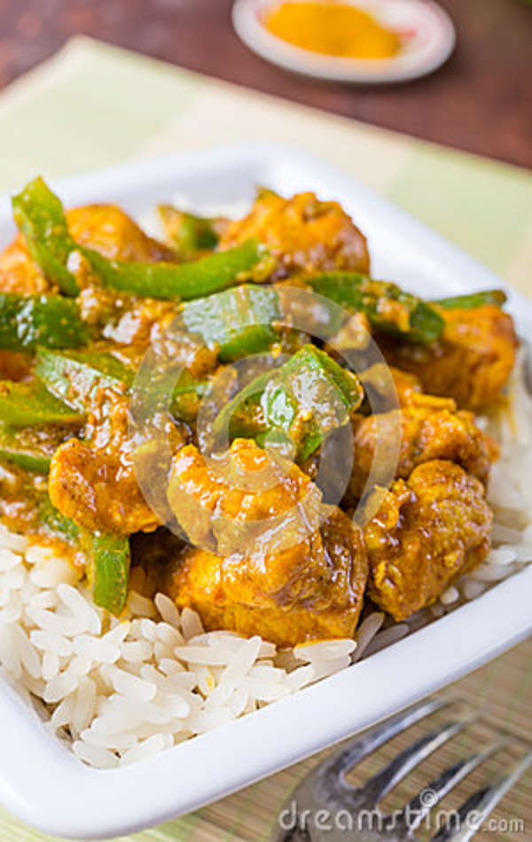Chicken Jalfrezi Indian Or Pakistani Curry Stock Image Image Of