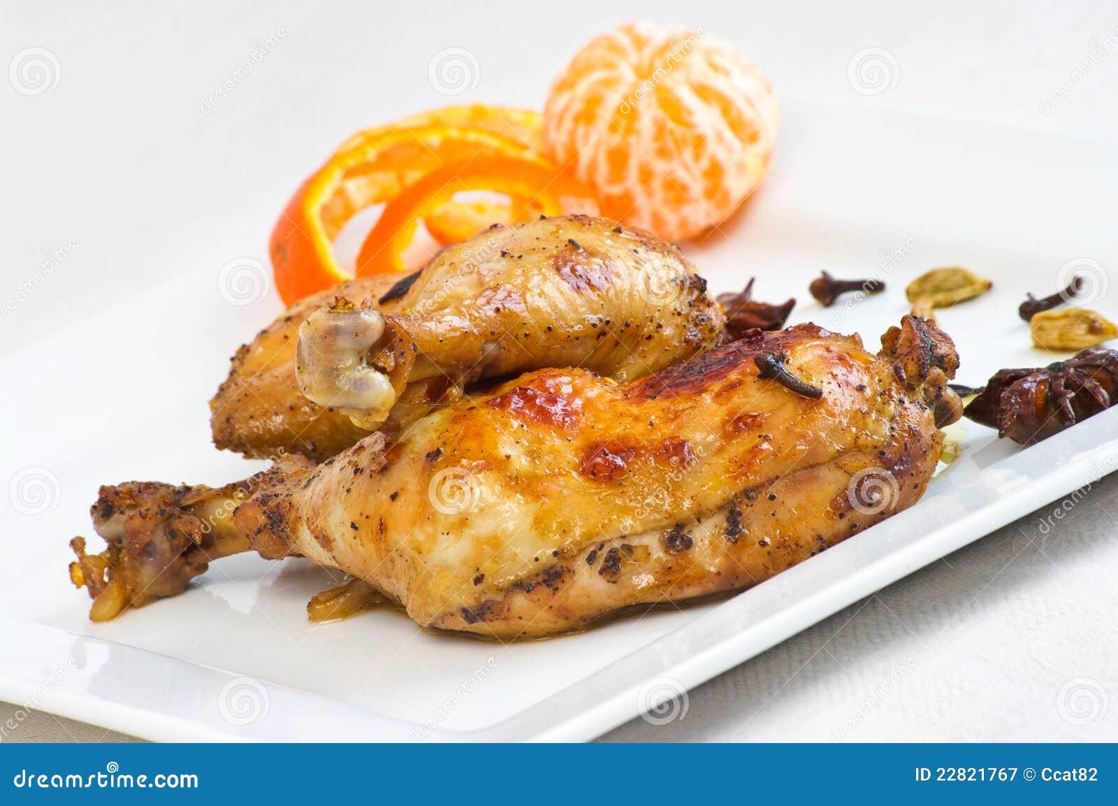 Thai-style Chicken Legs Recipe — Dishmaps