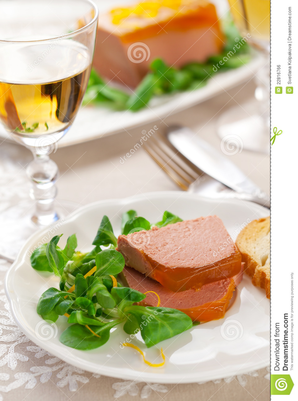 Chicken Liver Pate Royalty Free Stock Image - Image: 22816766